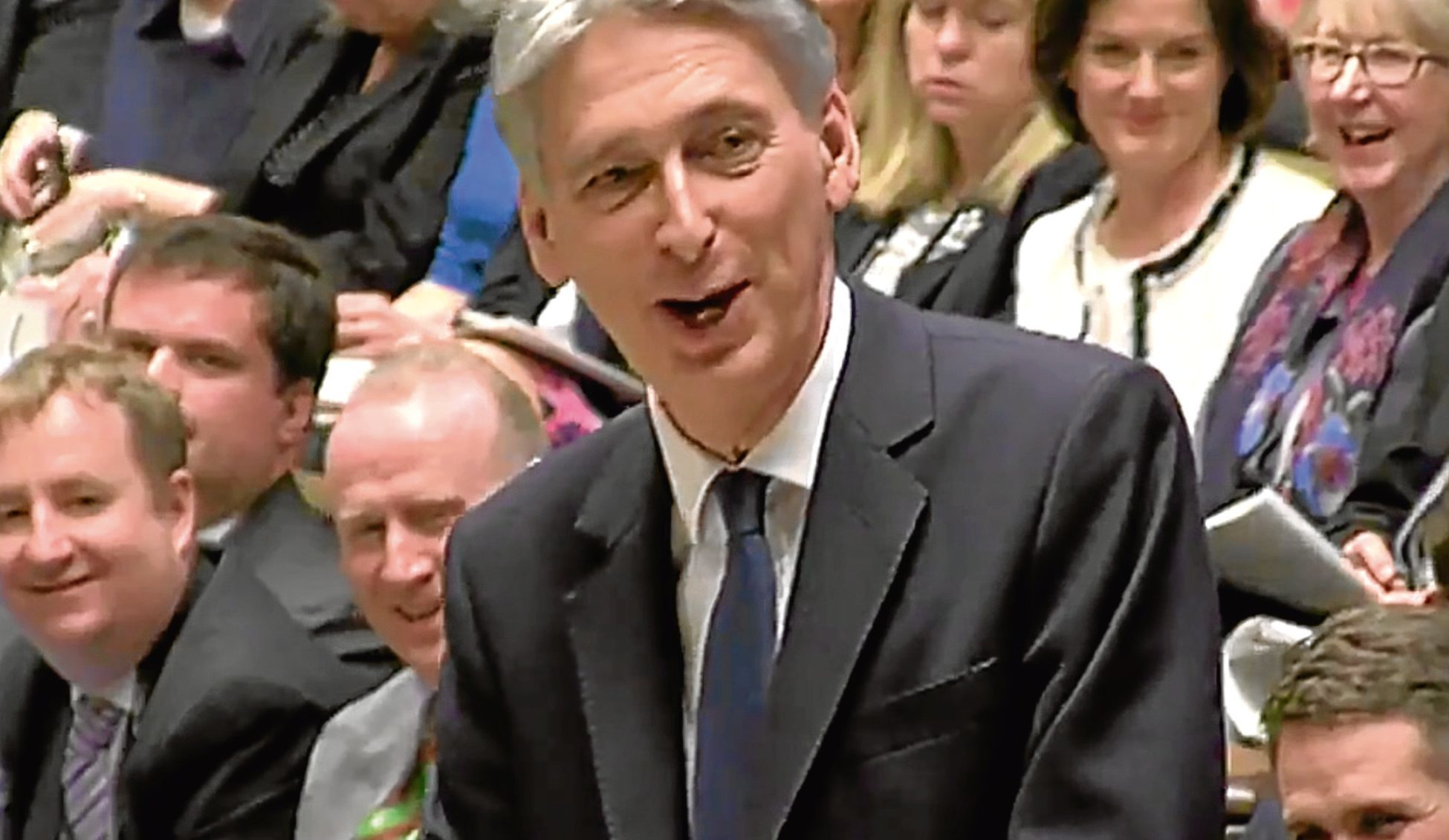 Chancellor Philip Hammond announces his budget