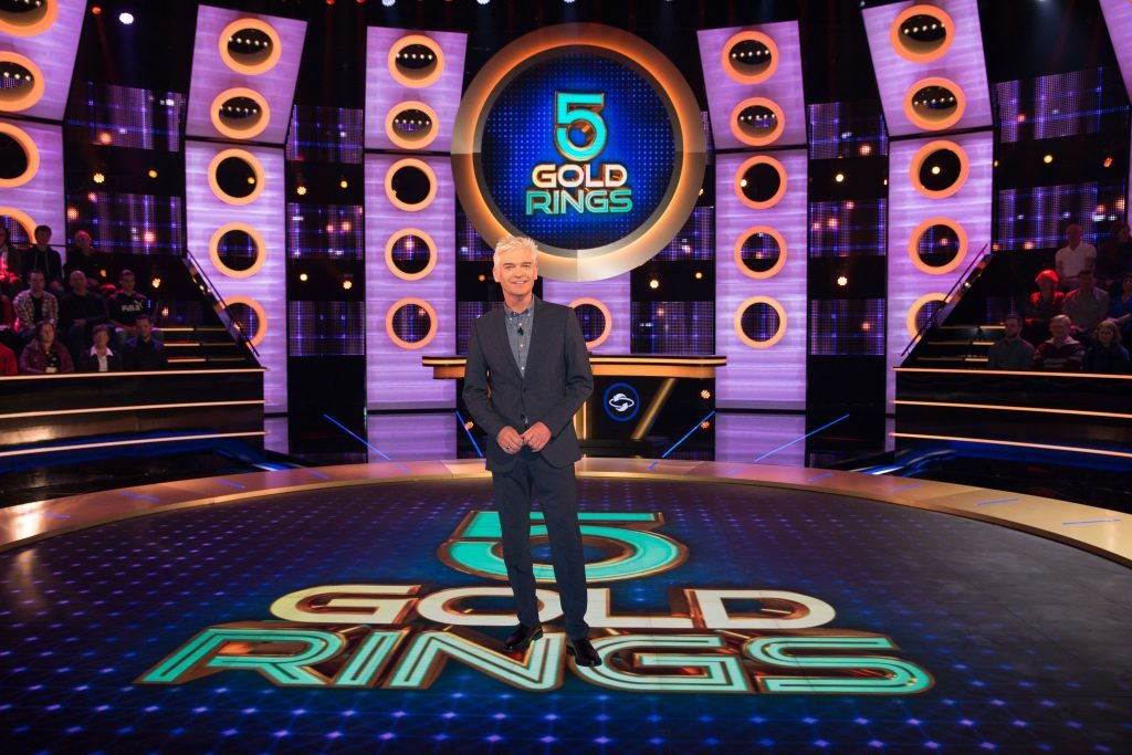 5 Gold Rings on ITV with Philip Schofield (Possessed /ITV)