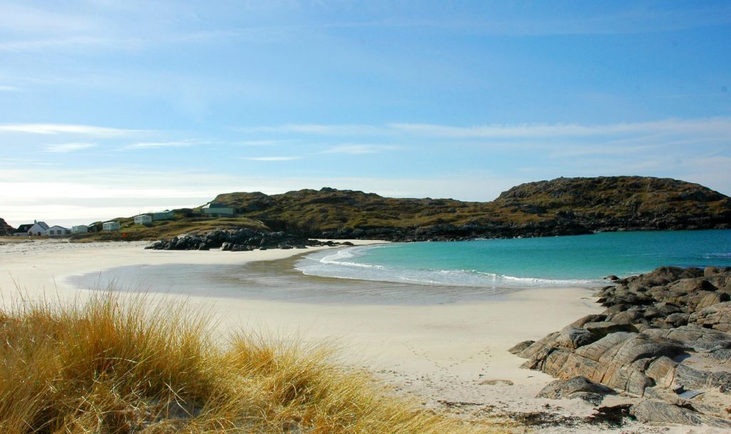 A beautiful day during Easter, Achmelvich Beach, Near Lochinver Gael Thomson, Aberdeen - for Scottish Life