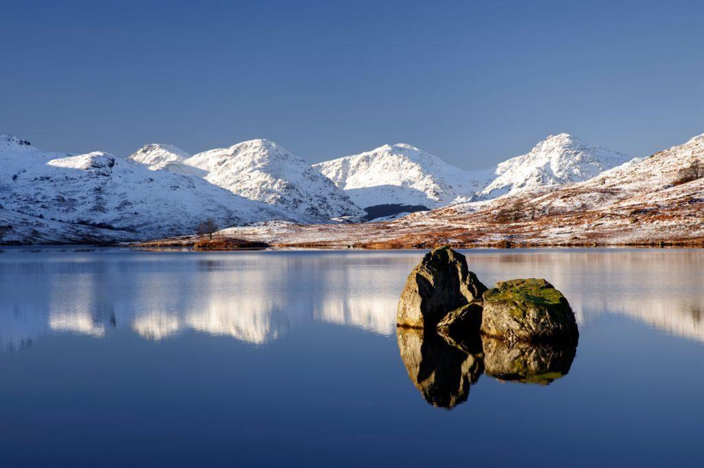Loch Arklet. Image shot 12/2008. Exact date unknown.