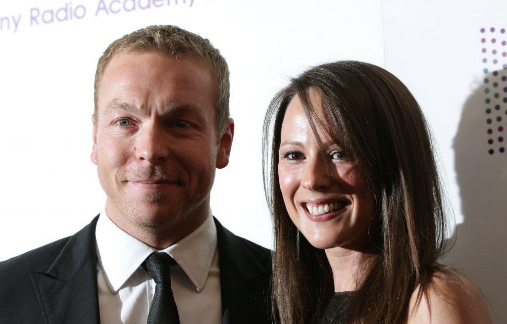 Lady Sarra Hoy and husband Sir Chris Hoy (Yui Mok/PA Wire)