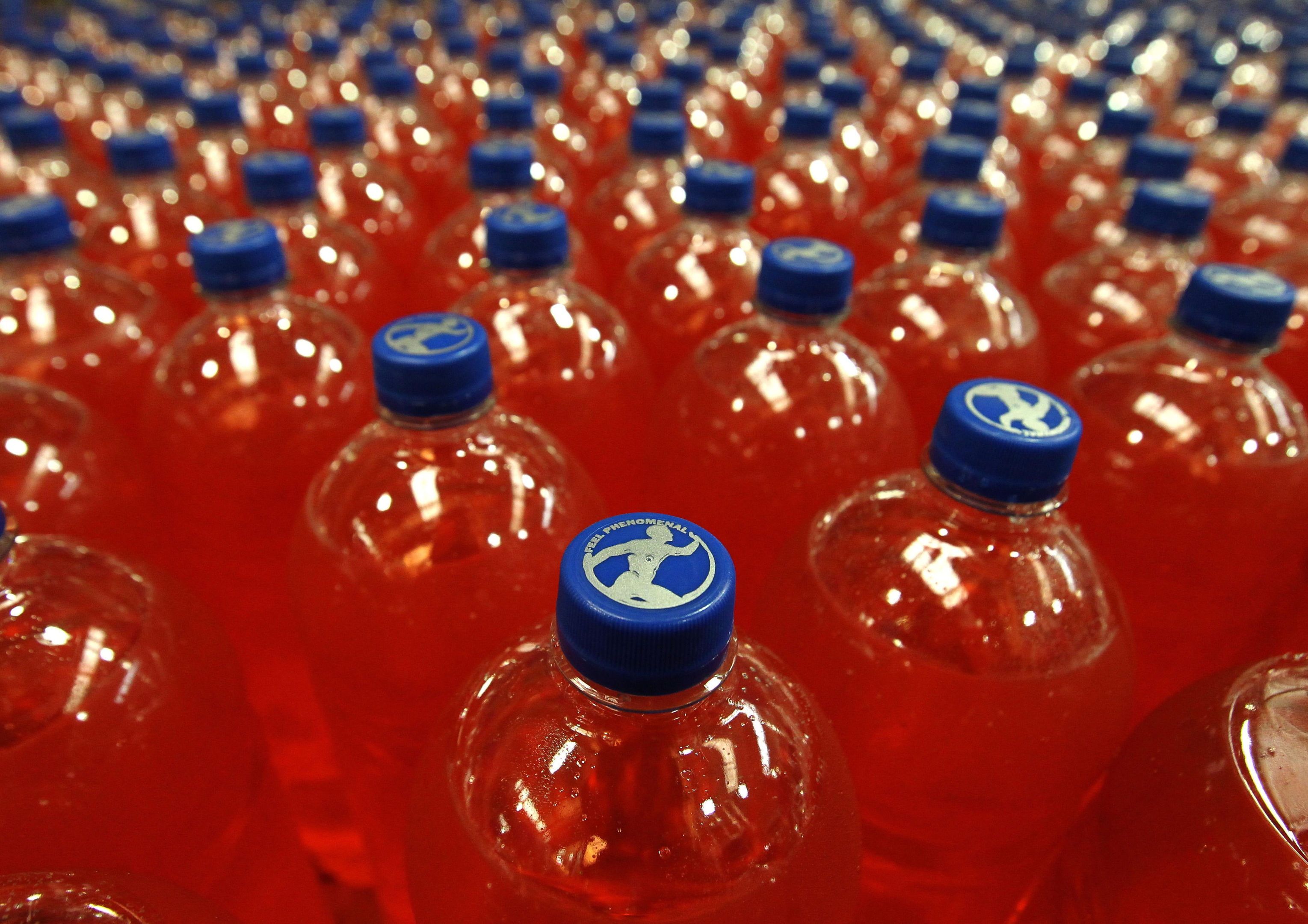 AG Barr is to reduce the sugar content in some of its best known brands, including Irn-Bru, ahead of a government crackdown on the fizzy drinks industry. (Andrew Milligan/PA Wire)