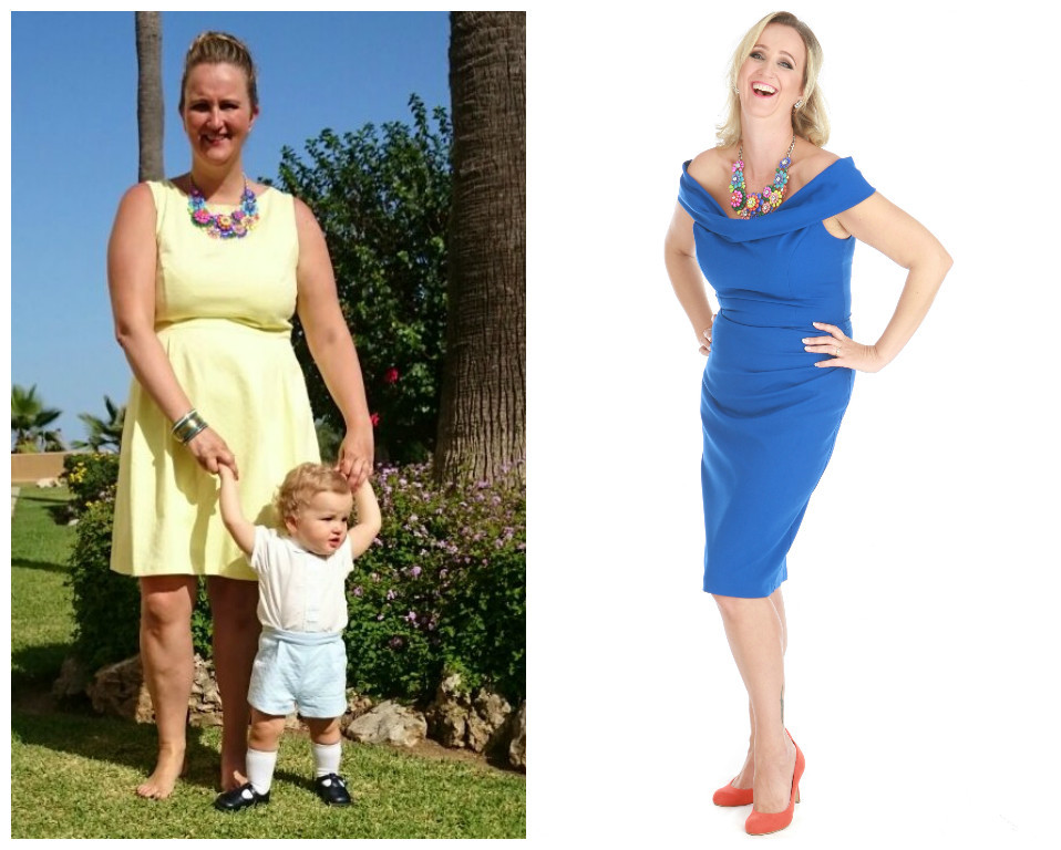 Dawn (Before: 14 stone 5.5lb, dress size 16/18 and After: 11 stone 8.5lb, dress size 12/14 - Weight loss: 2 stone 11lb)