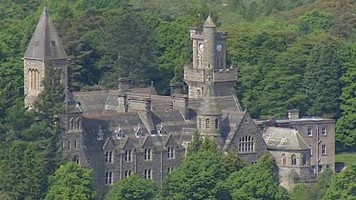 Fort Augustus Abbey in the Highlands
