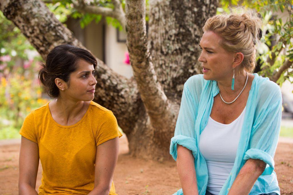 Amanda with Amrita Acharia (Chris Burgess / ITV)
