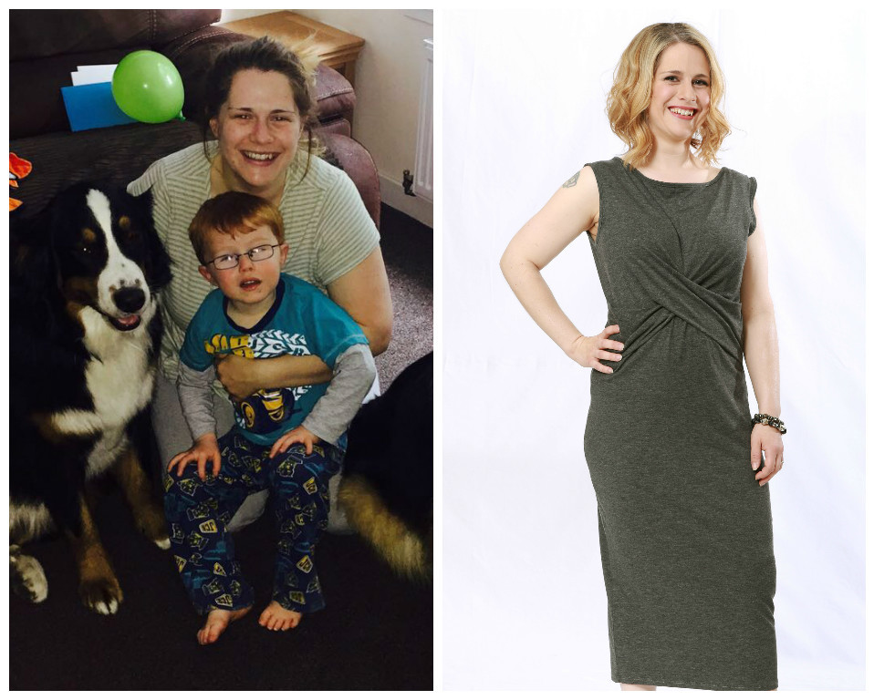 Kirsty (Before: 13 stone, dress size 18 and After: 9 stone 4lb, dress size 6/8 - Weight loss: 3 stone 10lb)