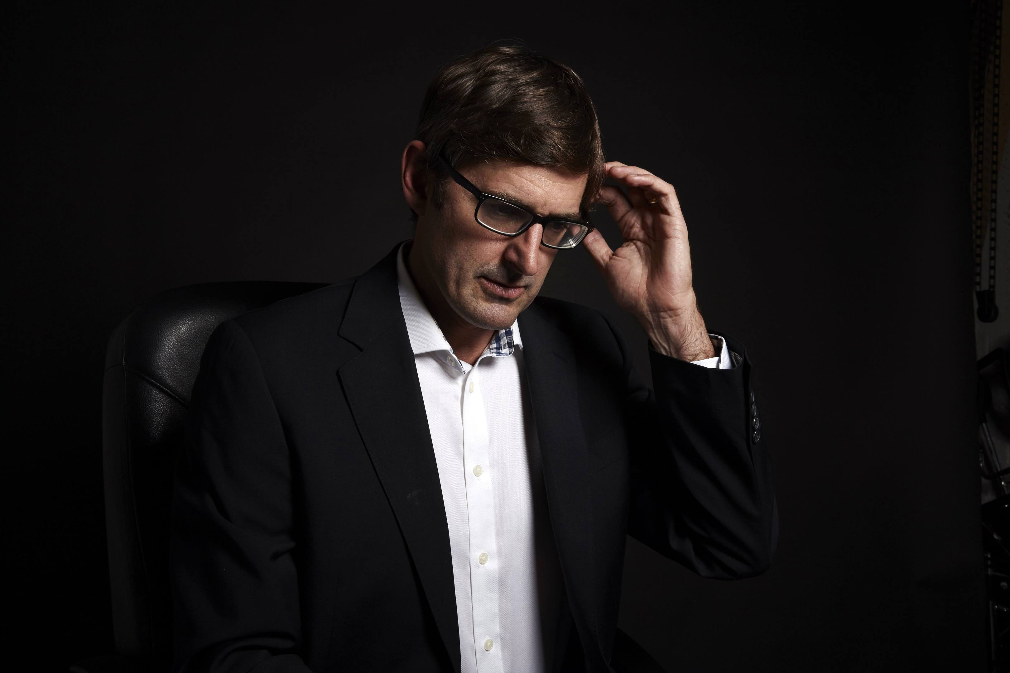"""Louis Theroux, who immersed himself into some of the most """"dysfunctional and disturbing aspects of American society"""" for three new documentaries airing later this year (BBC/PA Wire)"""