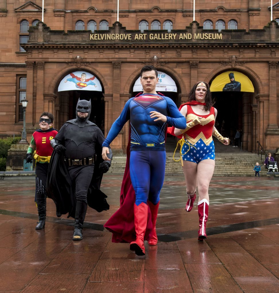 The launch of the exhibition at Kelvingrove (SNS Group / Alan Harvey)