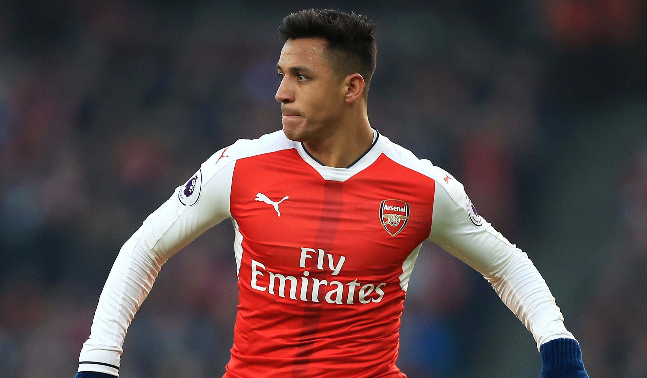 Arsenal forward Alexis Sanchez (Mike Egerton/PA Wire)