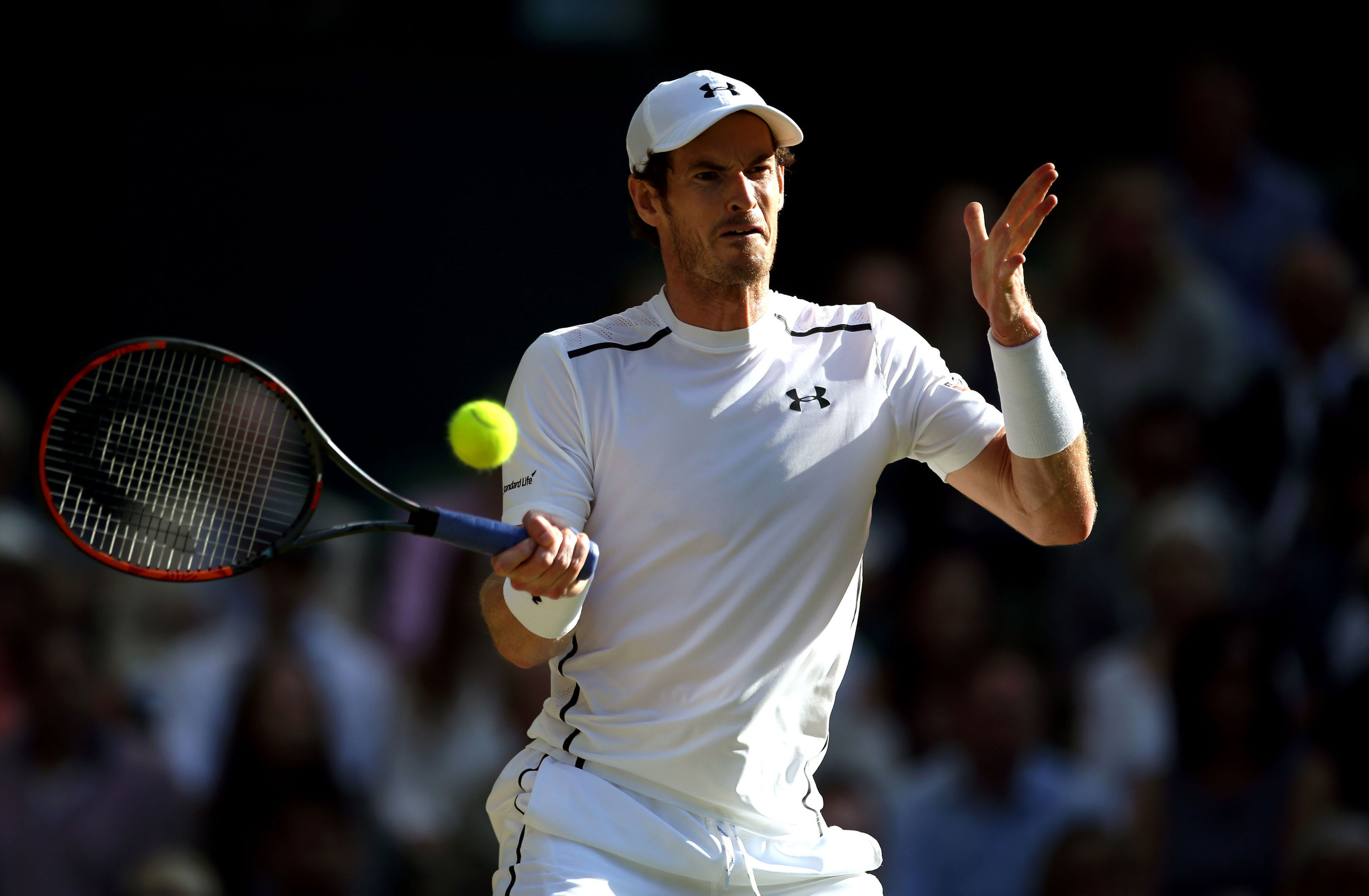 Andy Murray has been ruled out of Great Britain's Davis Cup quarter-final tie against France by an elbow injury. (Steve Paston/PA Wire)