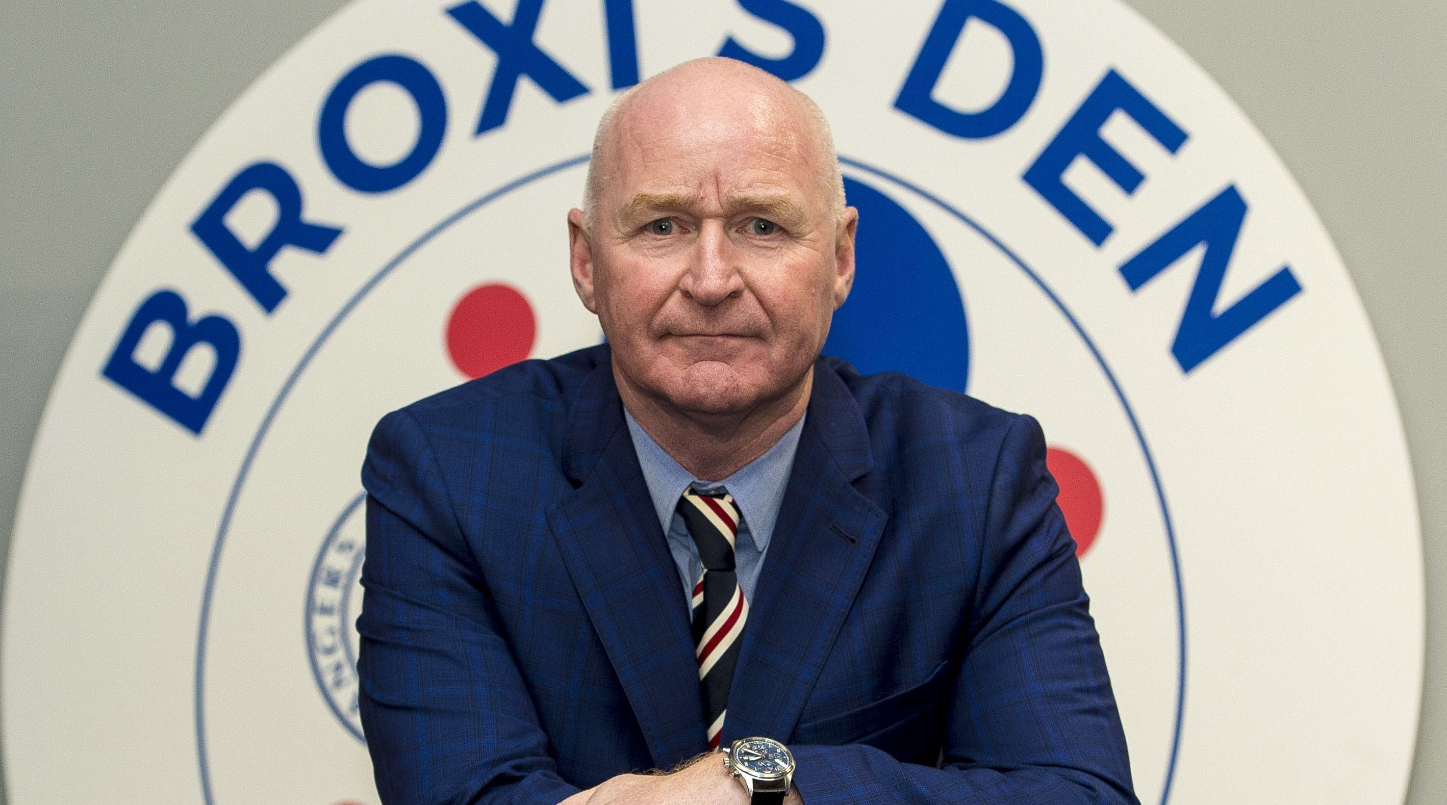 Rangers' new sensory suite, Broxi's Den is officially opened by former player John Brown (SNS Group / Paul Devlin)