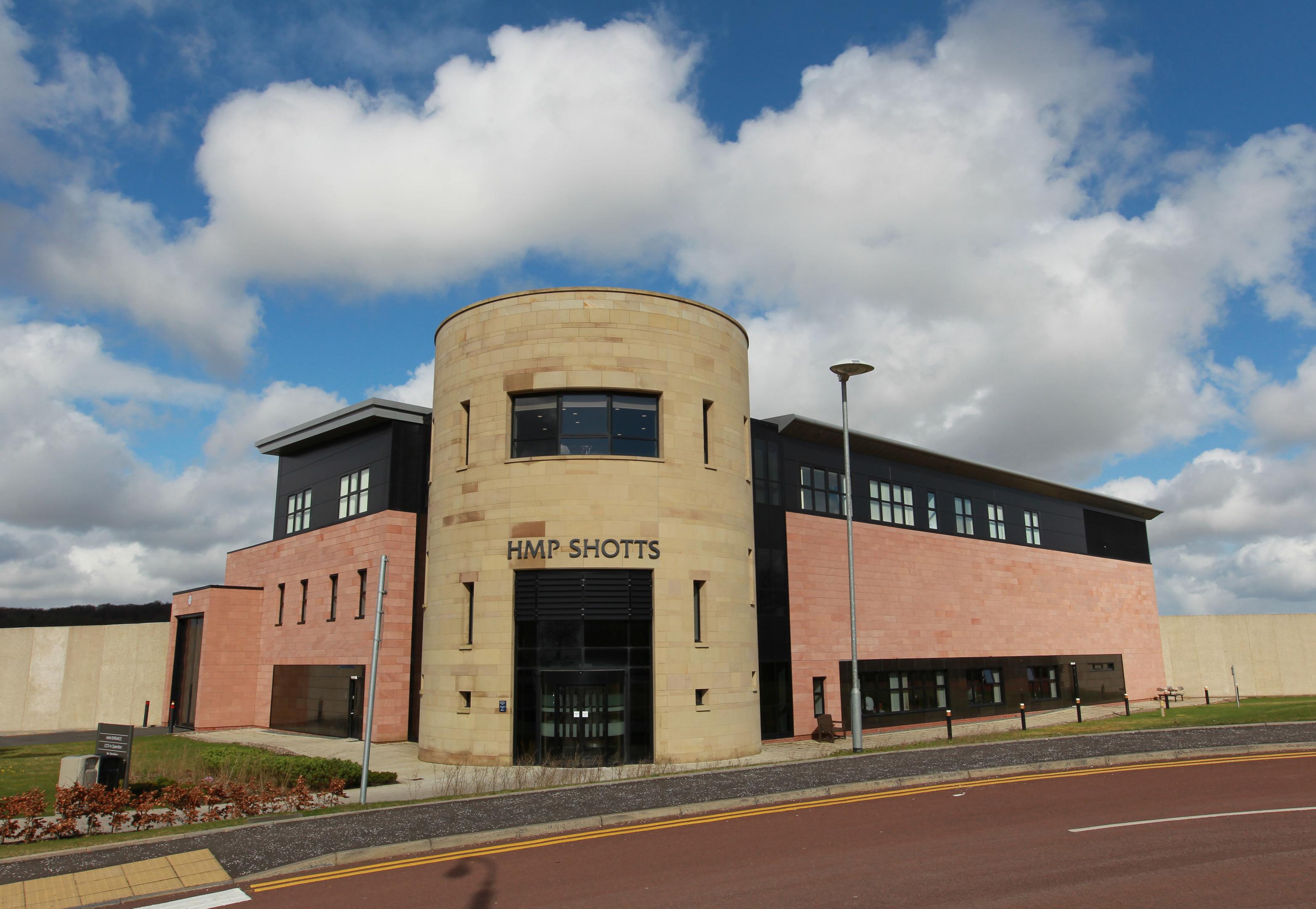 HMP Shotts Prison. (Andrew Cawley)