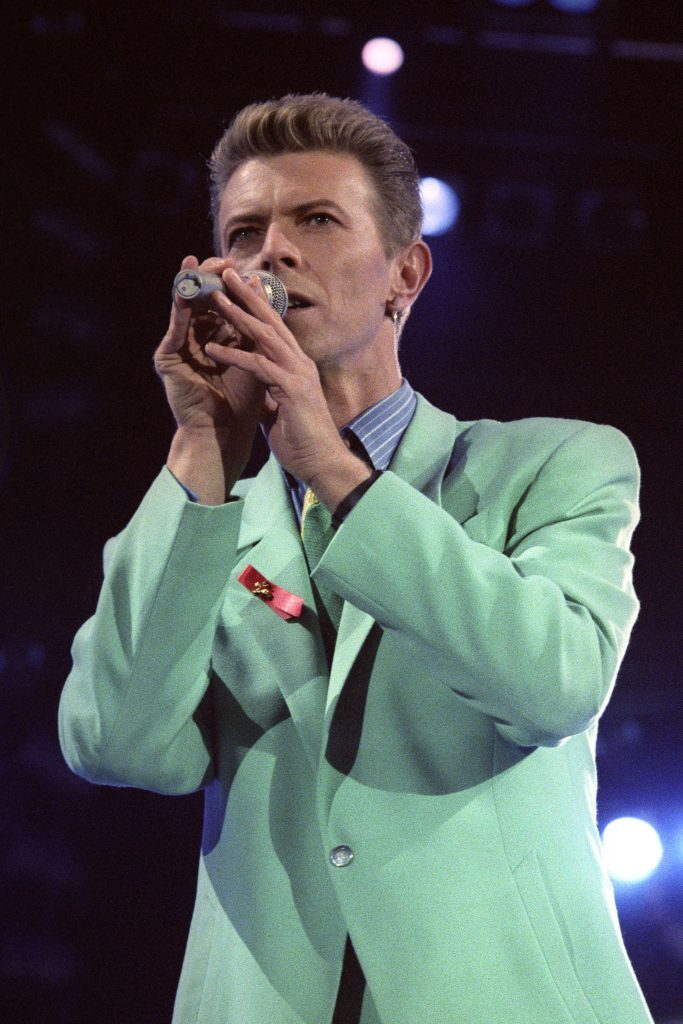 David Bowie on stage during The Freddie Mercury Tribute Concert  (PA Archive/Press Association)