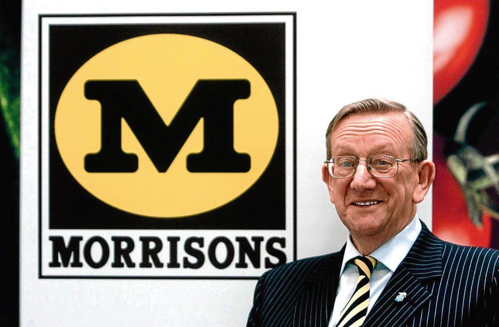 Sir Ken Morrison (Ian Nicholson/PA Wire)
