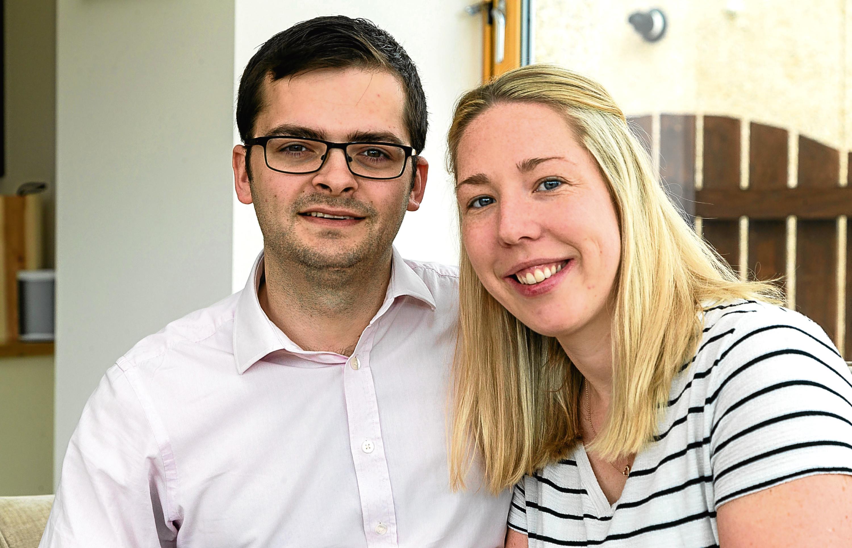 Craig and Cherie enjoyed a lovely honeymoon – when they eventually got to their destination (Derek Ironside / Newsline)