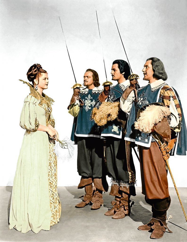 Angela in The Three Musketeers, 1948 (Allstar/MGM)