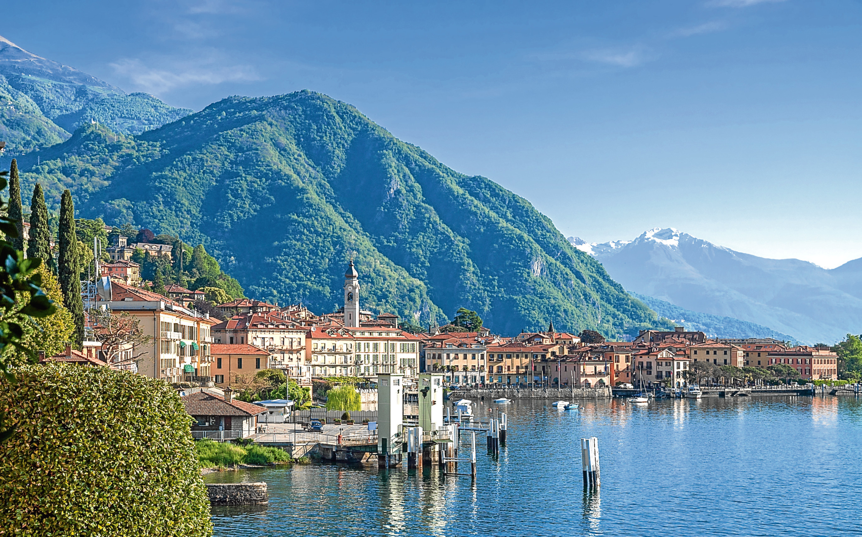 The peace and quiet of Lake Como inspired Janet's first Culture Crime novel (iStock)