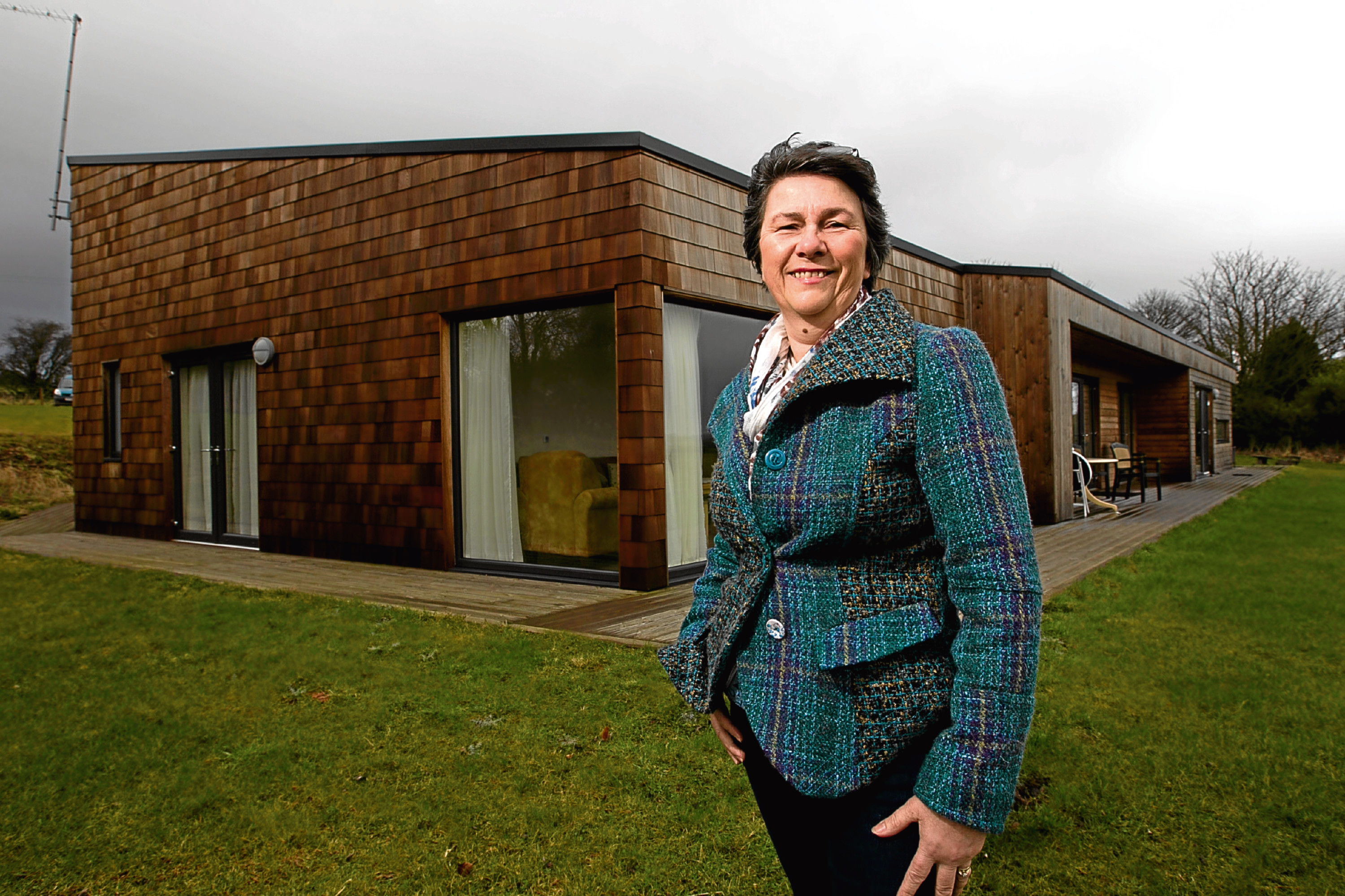 Moira Henderson, who has built a holiday home, which is aimed at making tourism more accessible to people with disabilities. (Andrew Cawley)