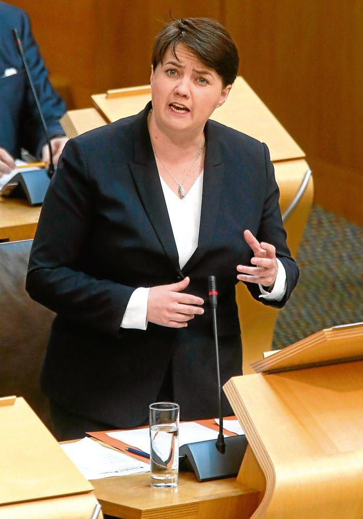 Ruth Davidson (Fraser Bremner)