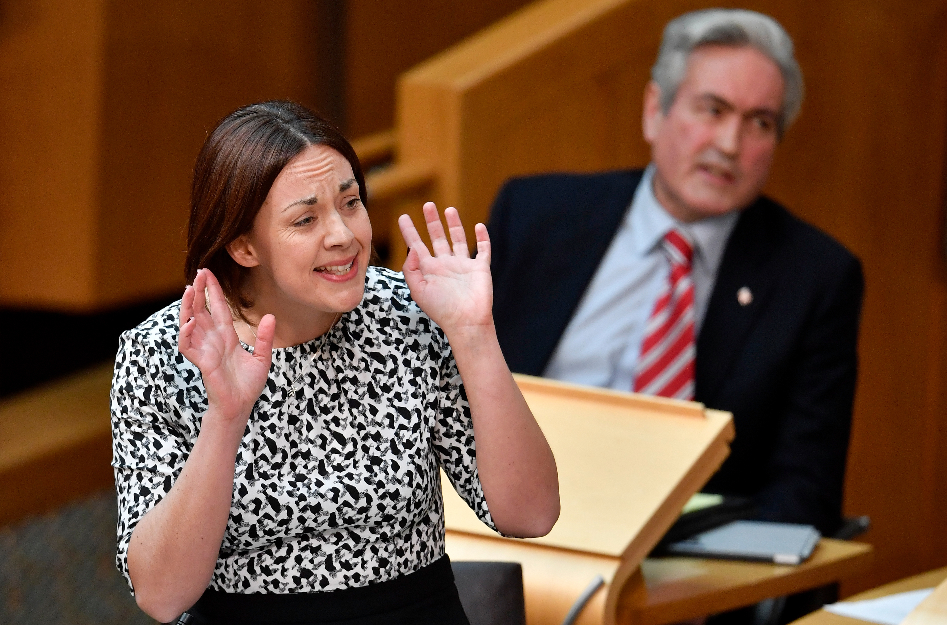 Kezia Dugdale Leader of the Scottish Labour Party (Jeff J Mitchell - Pool /Getty Images)