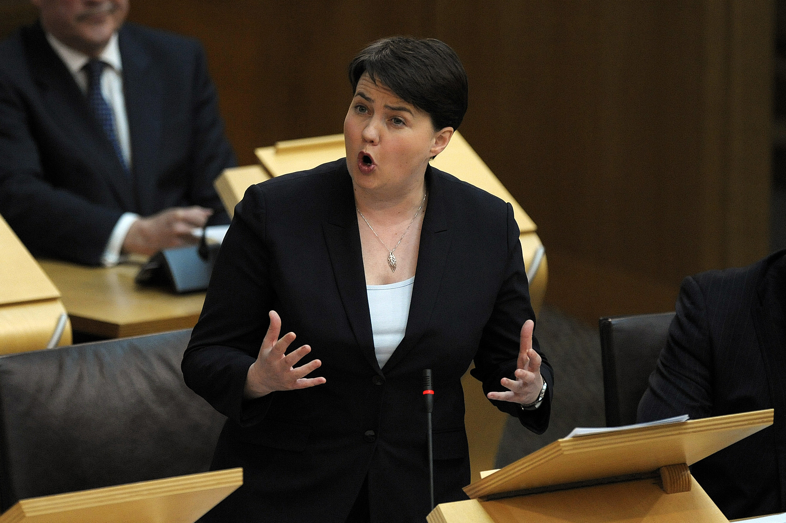 Leader of the Scottish Conservative Party Ruth Davidson (Andy Buchanan/WPA Pool /Getty Images)