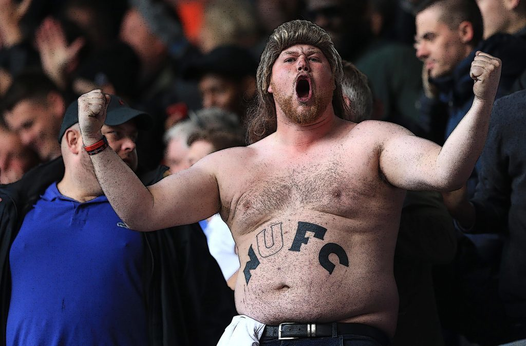 A Newcastle United fan (Stephen Pond/Getty Images