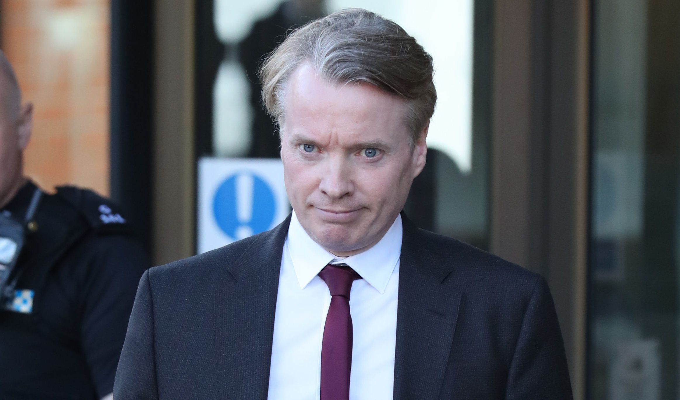 Former Rangers owner Craig Whyte outside the High Court in Glasgow. (Andrew Milligan/PA Wire)