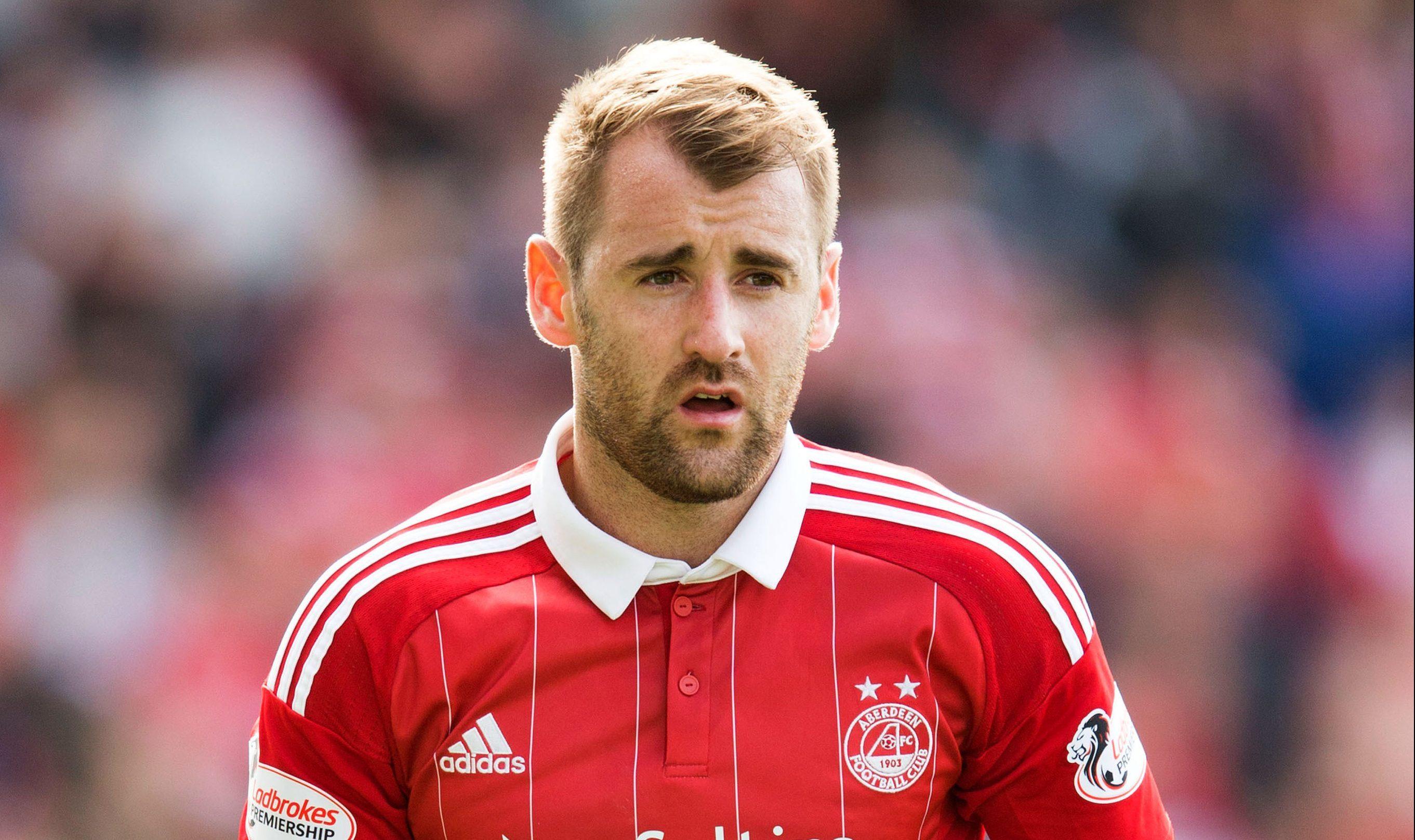 Aberdeen's Niall McGinn (Jeff Holmes / PA Wire)