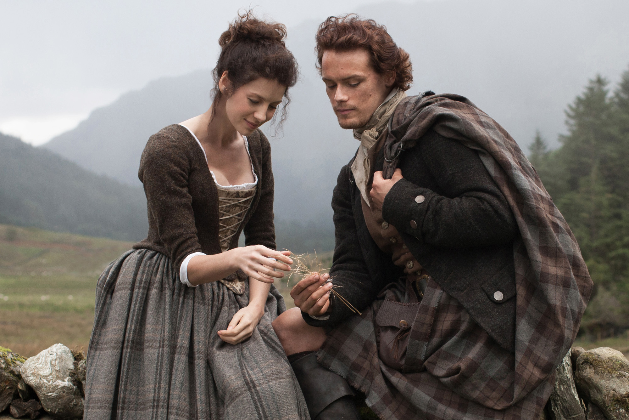 A scene from Outlander (Nick Briggs/Sony)