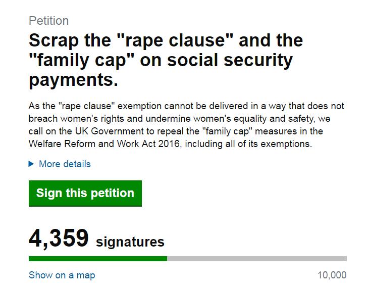 Scrap rape clause