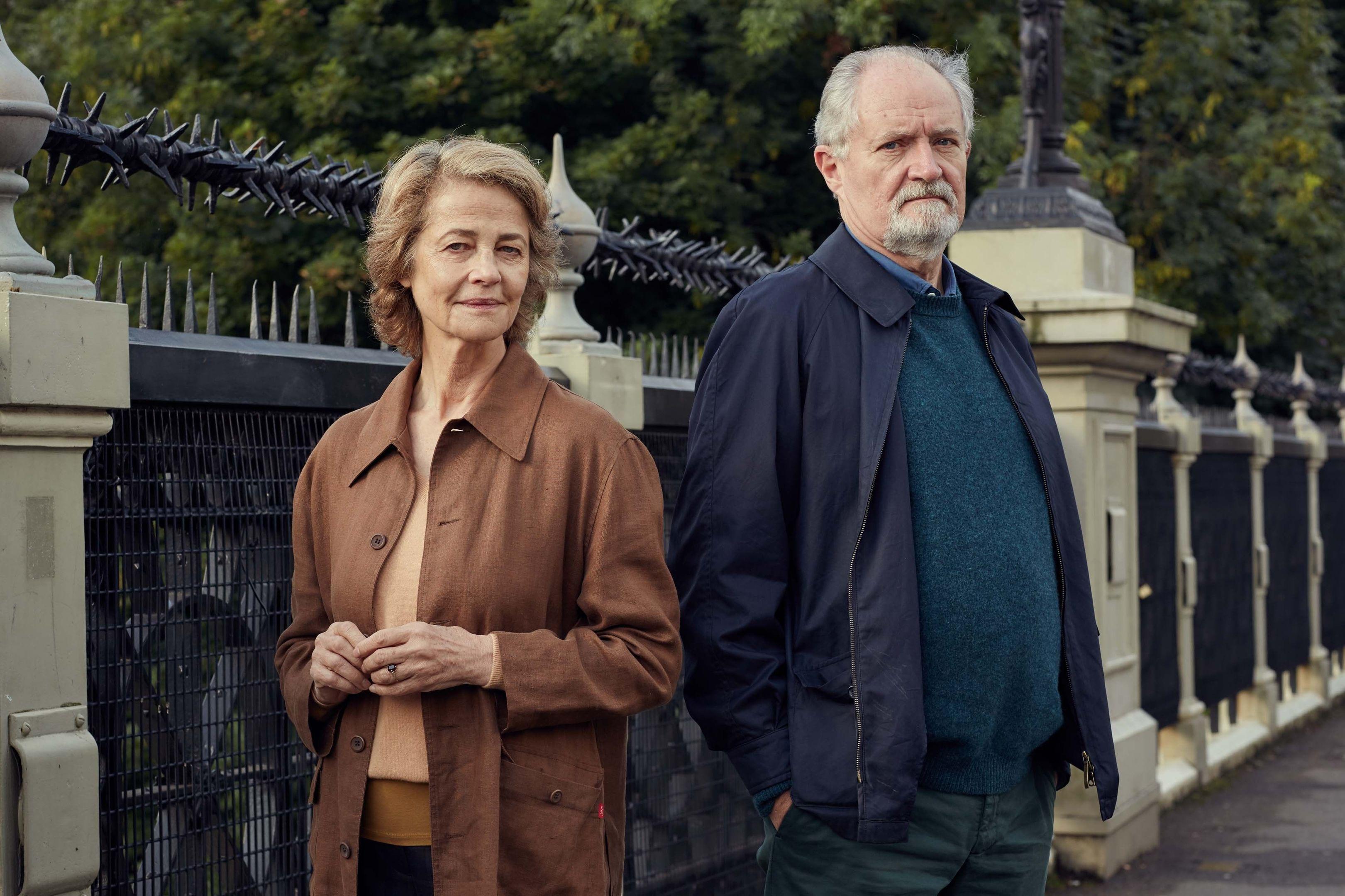 Charlotte Rampling and Jim Broadbent star in The Sense of an Ending (PA Photo / StudioCanal)