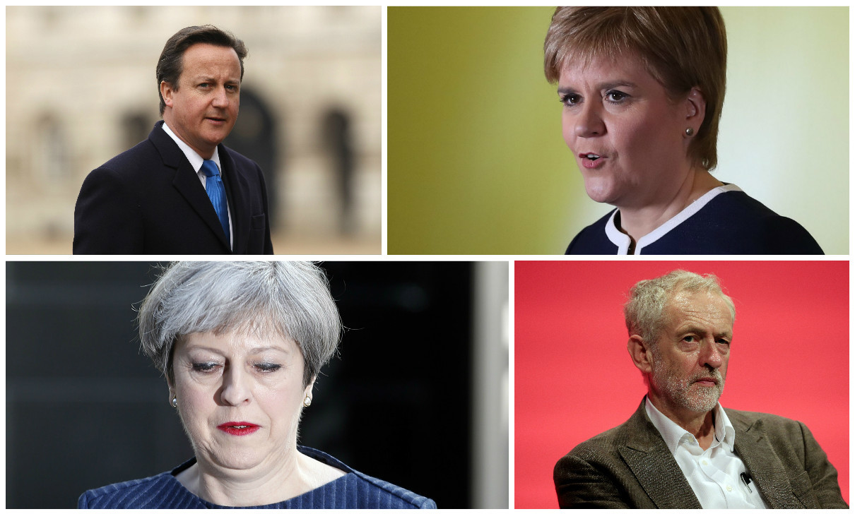 The UK's been in political flux since the independence referendum