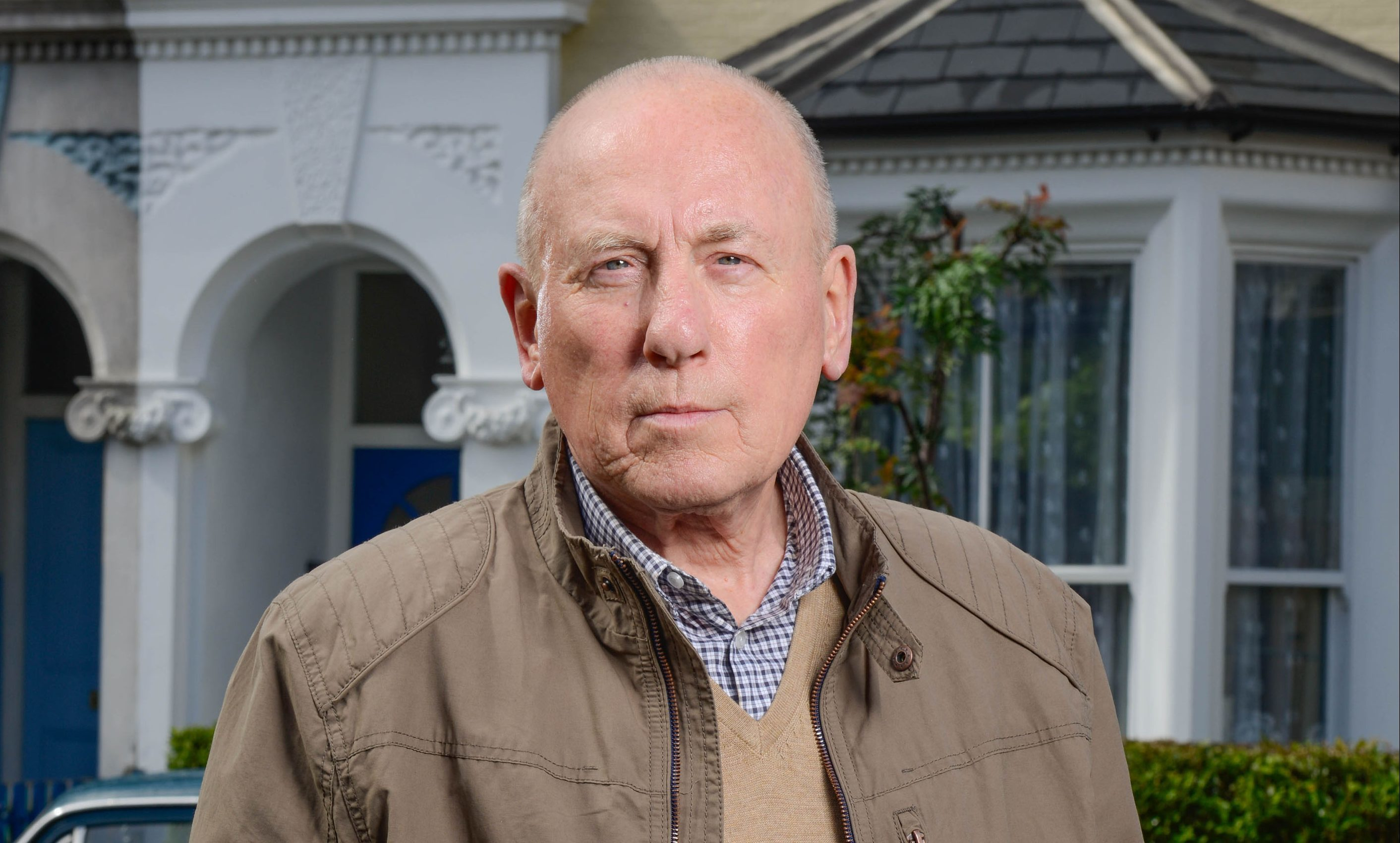 Christopher Timothy plays Ted Murray in EastEnders (BBC / Kieron McCarron)