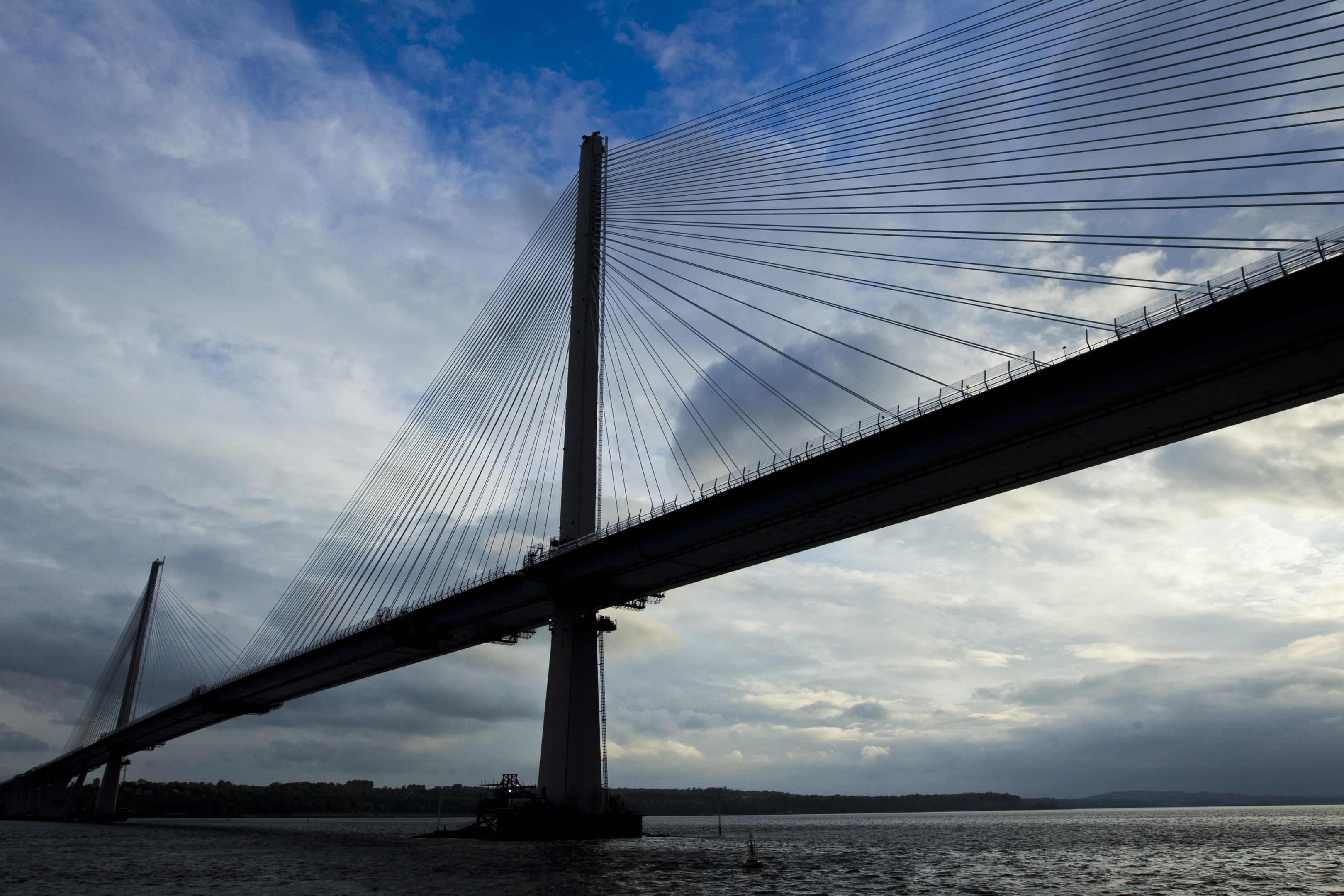 The Queensferry Crossing bridge on the Firth of Forth (Andrew Cawley)