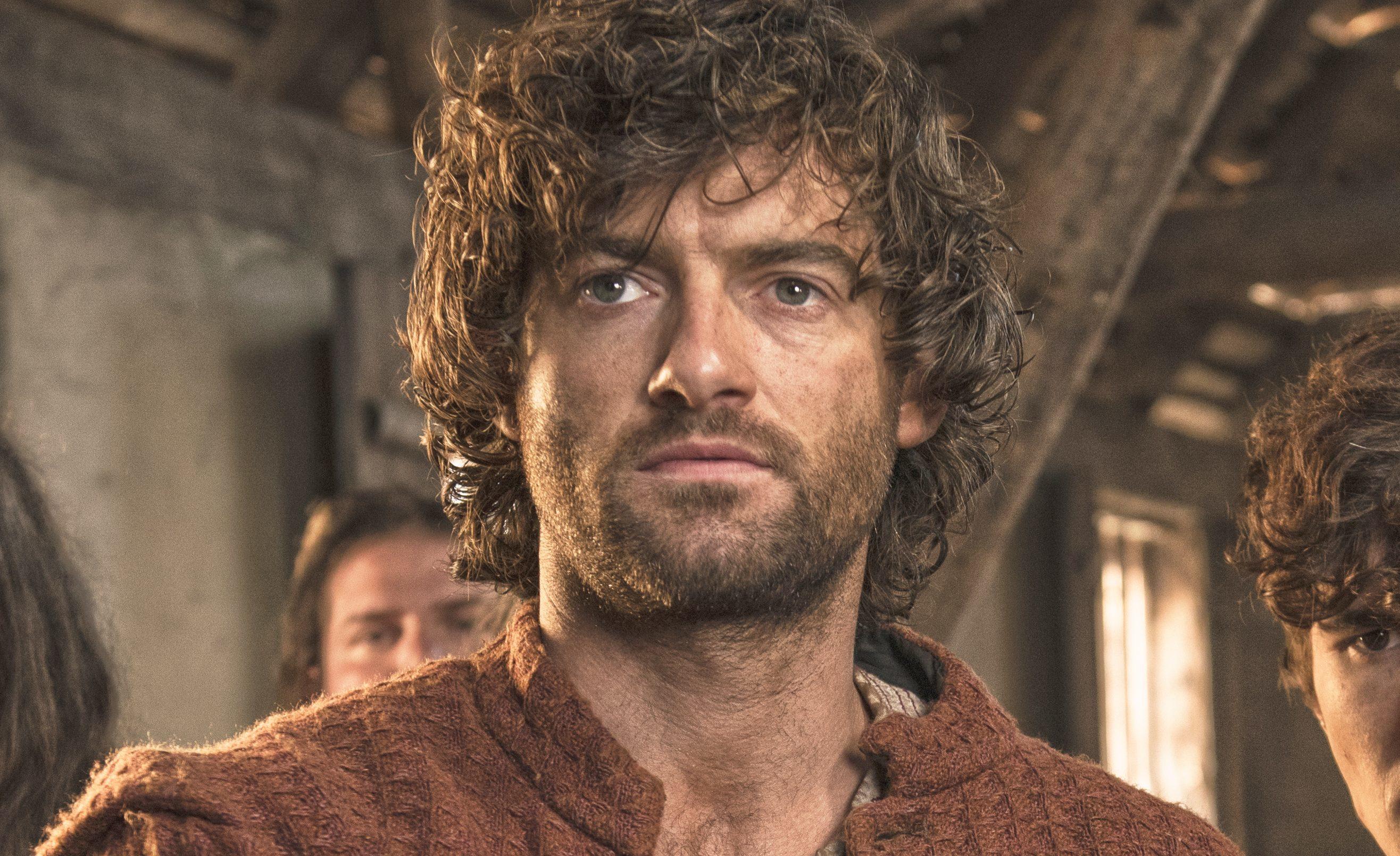 Stuart Martin starring in Jamestown (Sky UK)