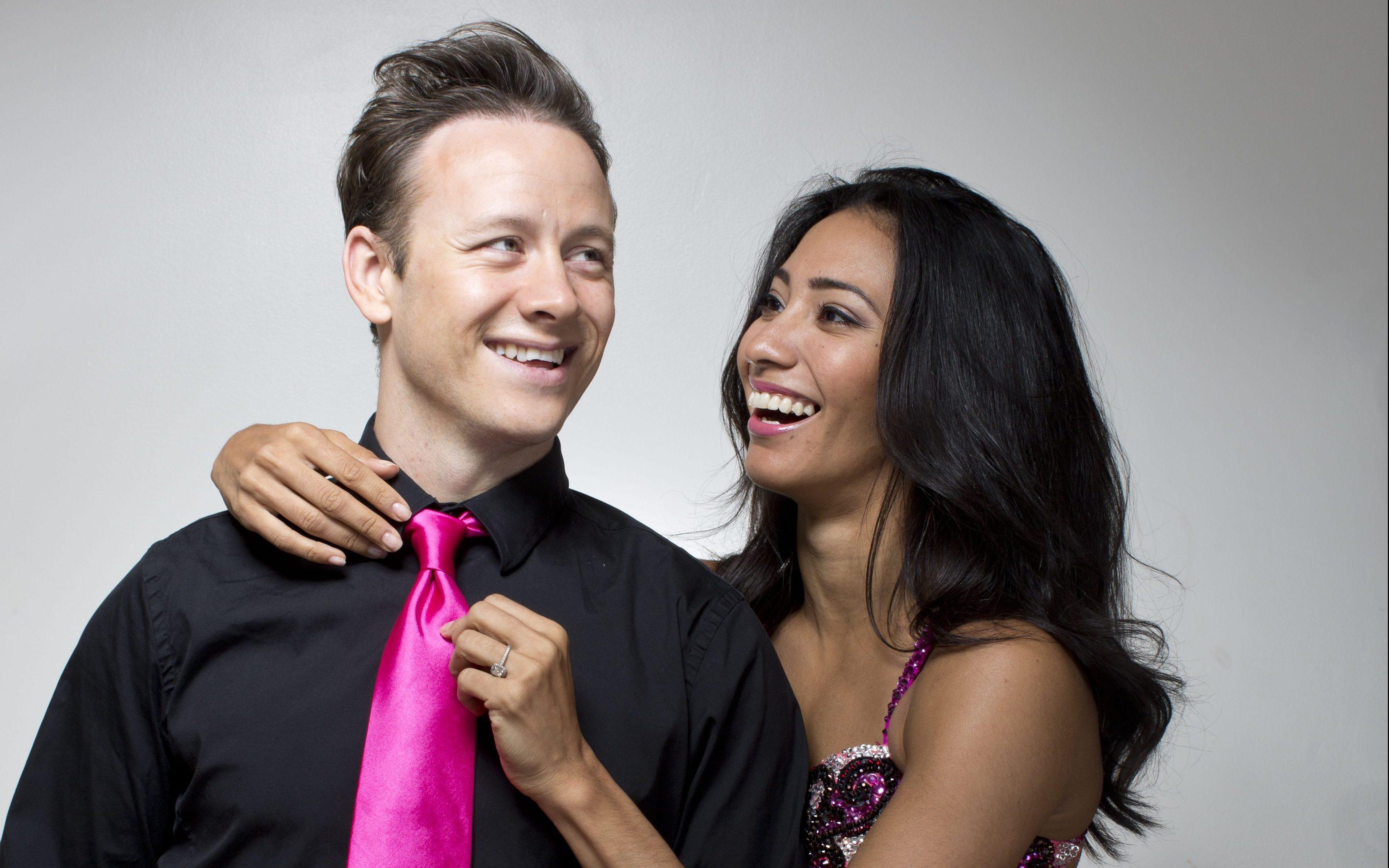Strictly's Kevin and Karen (David Bebber / REX / Shutterstock)