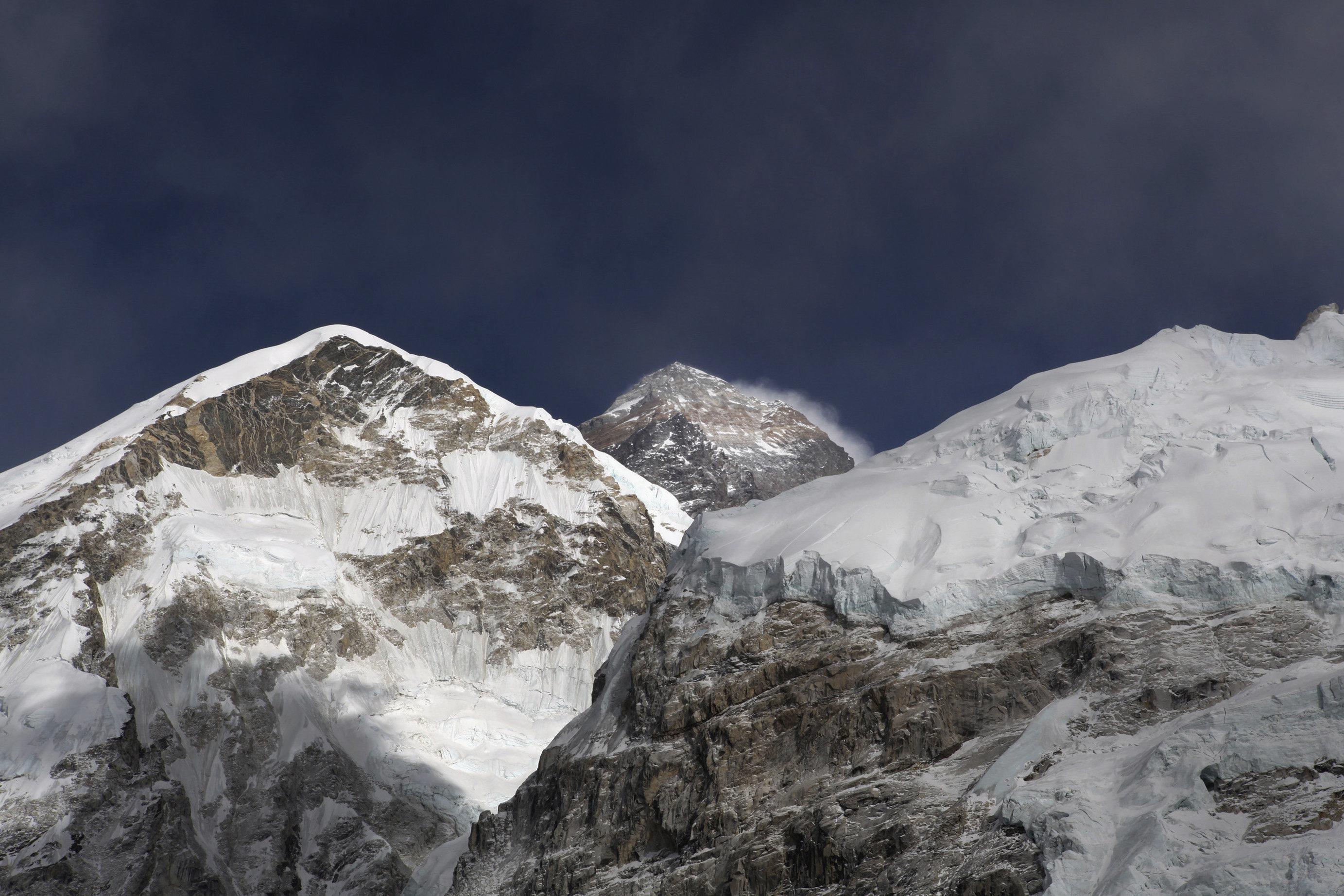 Mt. Everest (AP Photo/Tashi Sherpa, File)