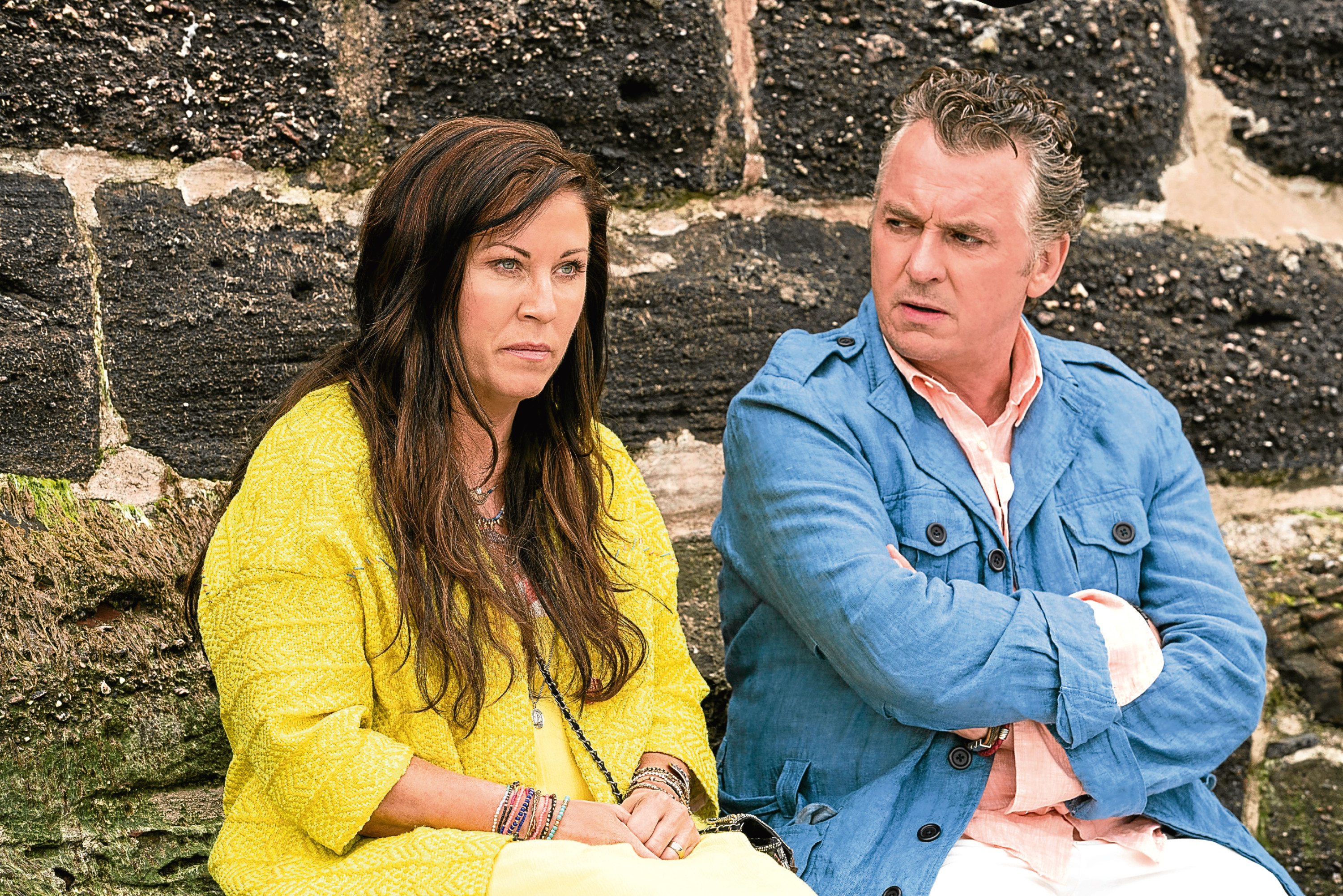 Shane Richie and Jessie Wallace reprise their roles as Kat and Alfie in Redwater (BBC / Patrick Redmond)