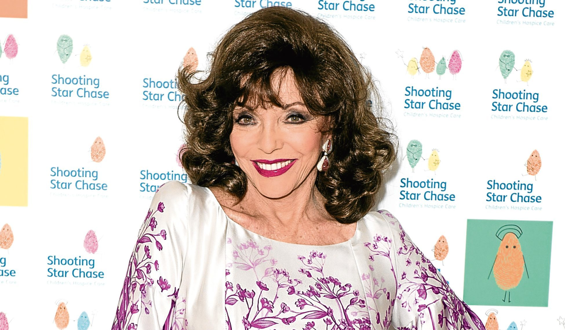 Joan Collins (Jeff Spicer/Getty Images)