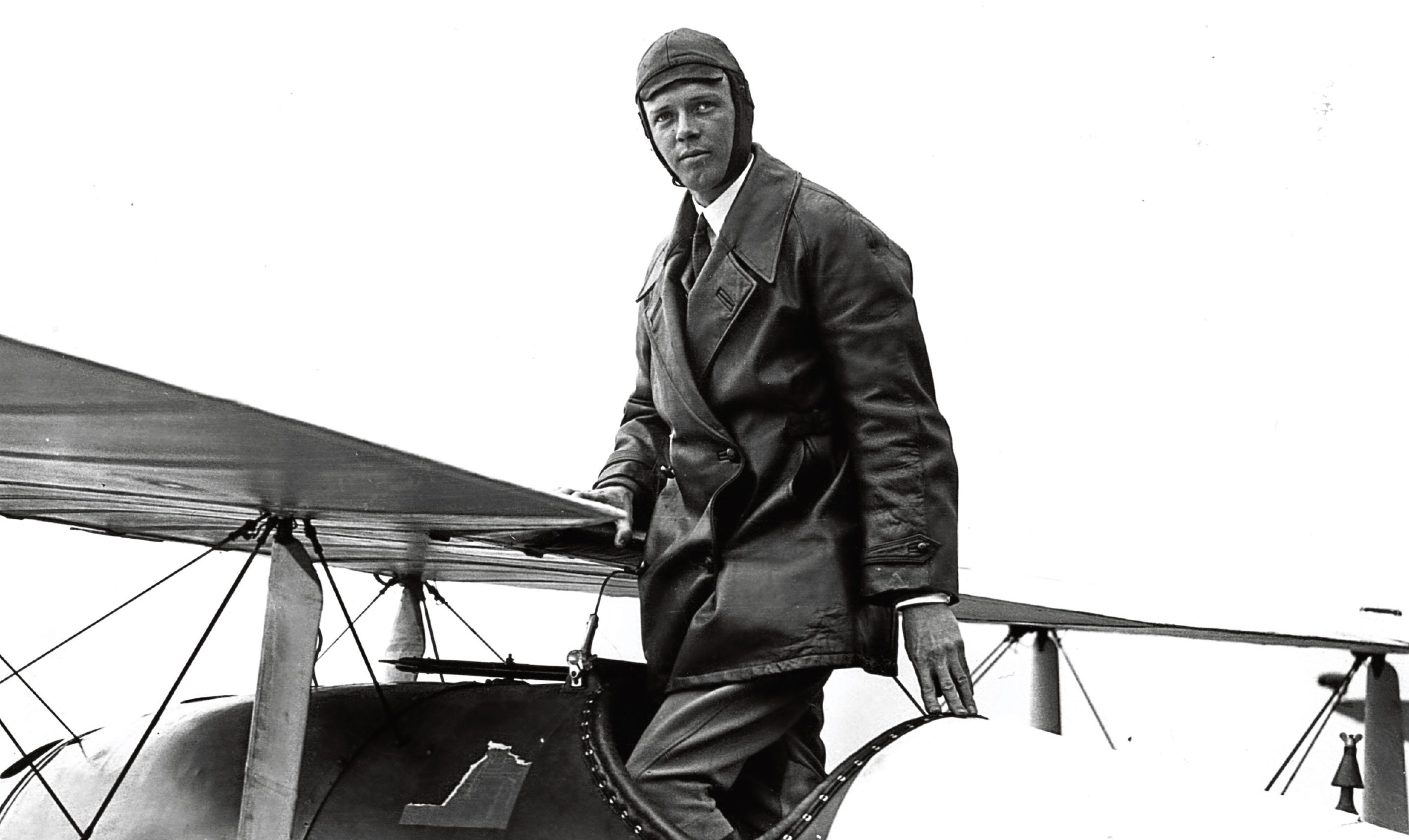 American aviator Colonel Charles Augustus Lindbergh (Central Press/Getty Images)