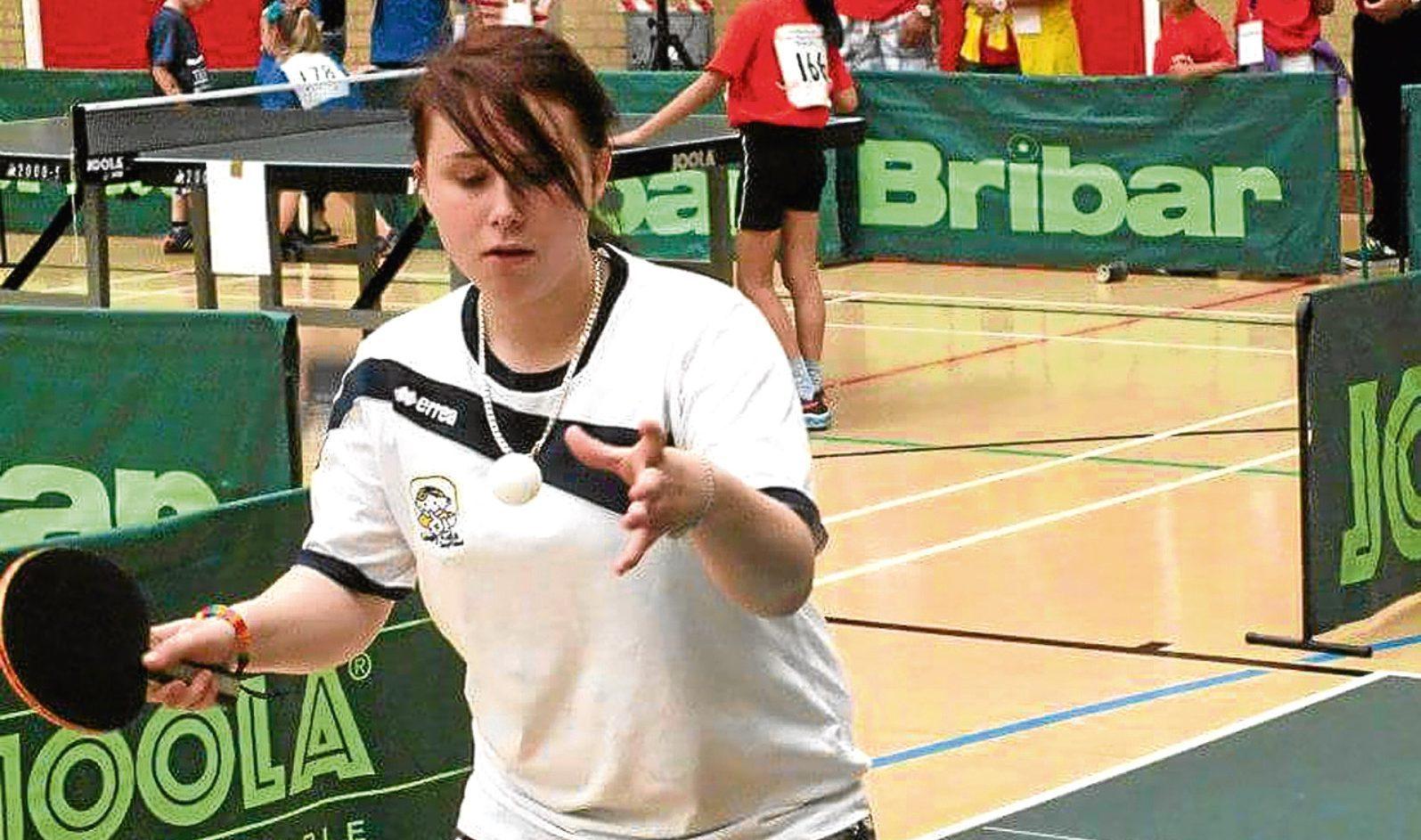 Zoe Buchanan in action