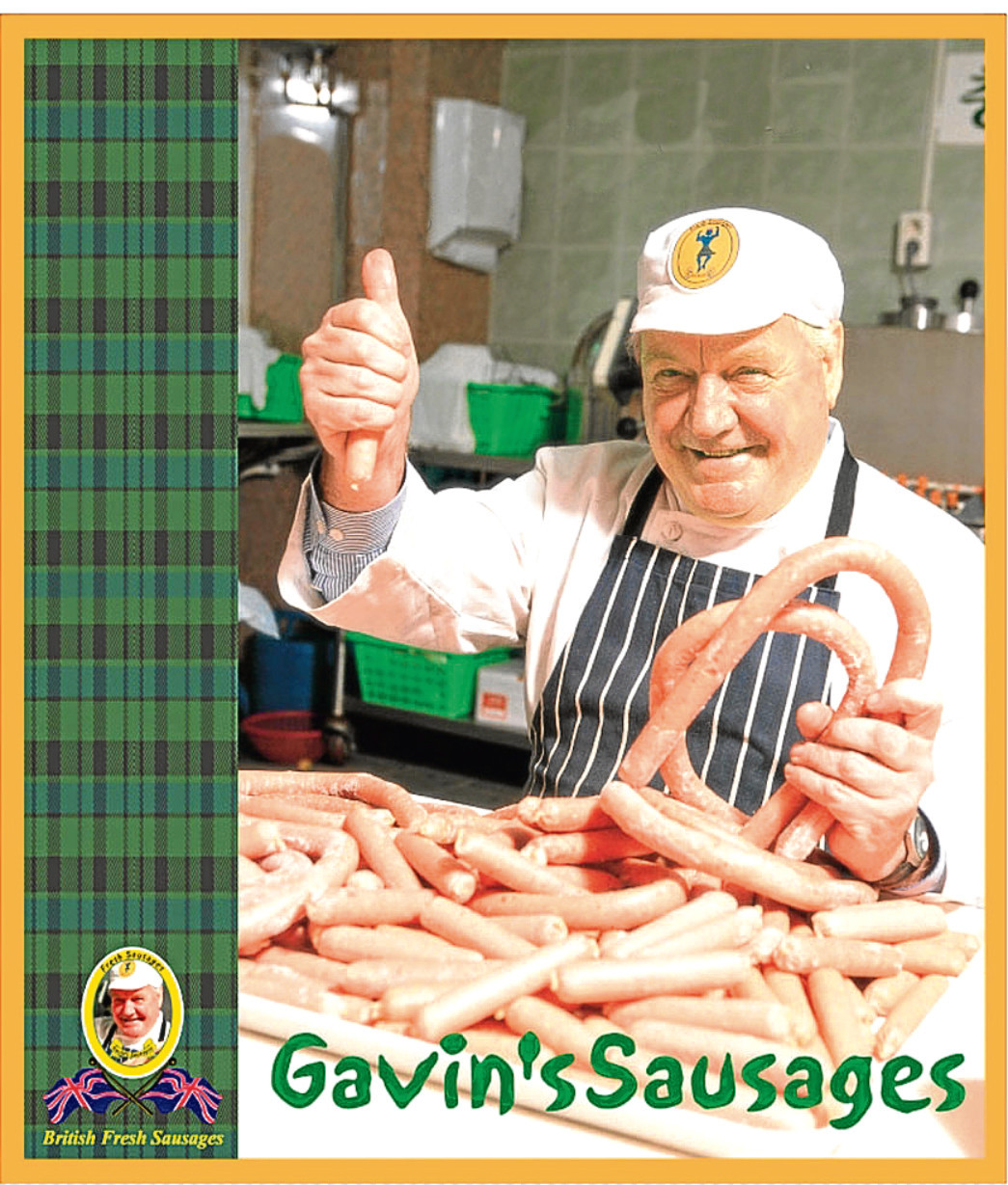 Gavin MacKay, who makes british sausages for the South Koreans in Seoul.