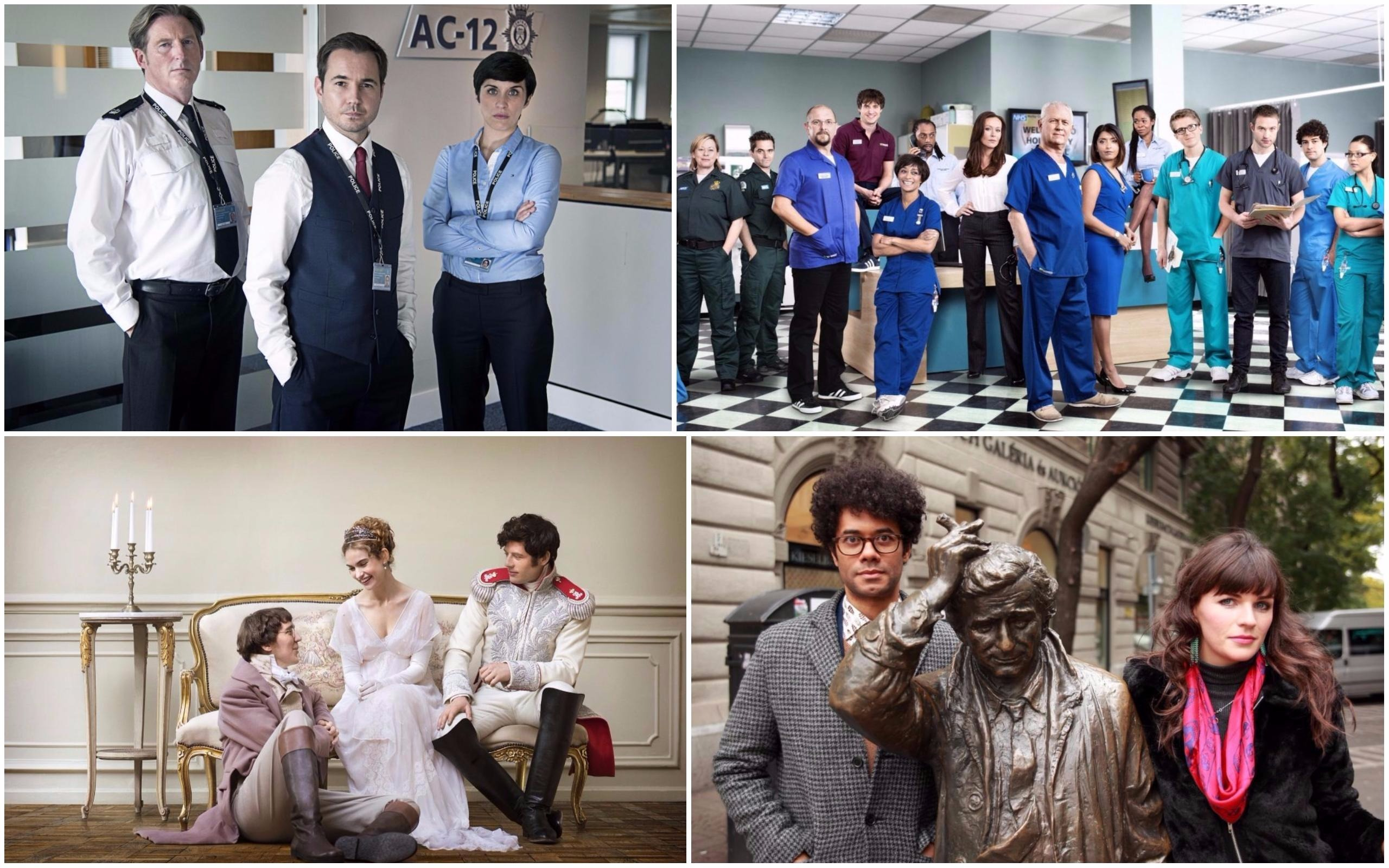 Line of Duty (World Productions, Steffan Hill), Casualty (BBC), Travel Man (Channel 4), War and Peace (BBC, Mitch Jenkins)