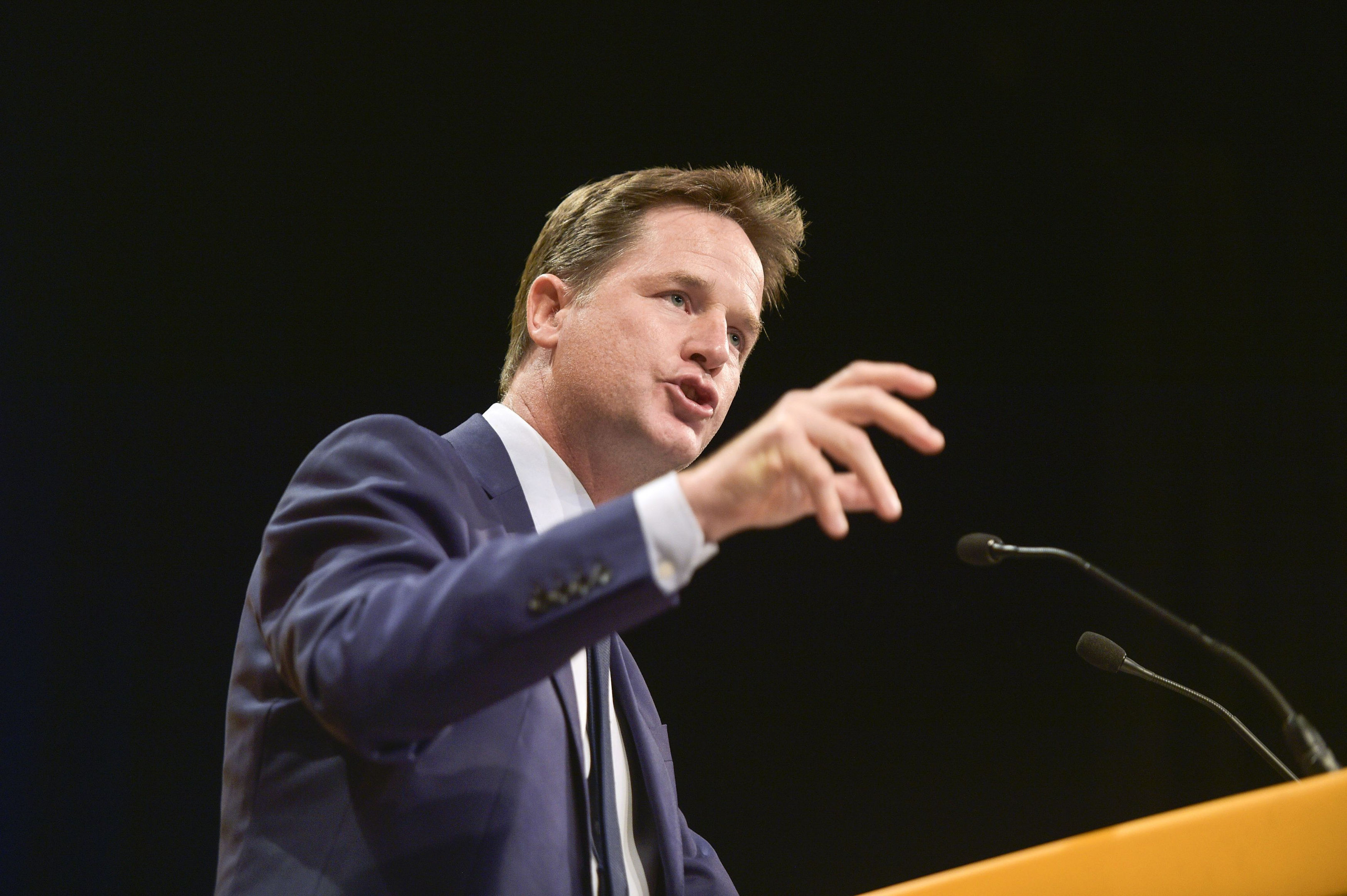 Former leader of the Liberal Democrats Nick Clegg (Ben Birchall/PA Wire)