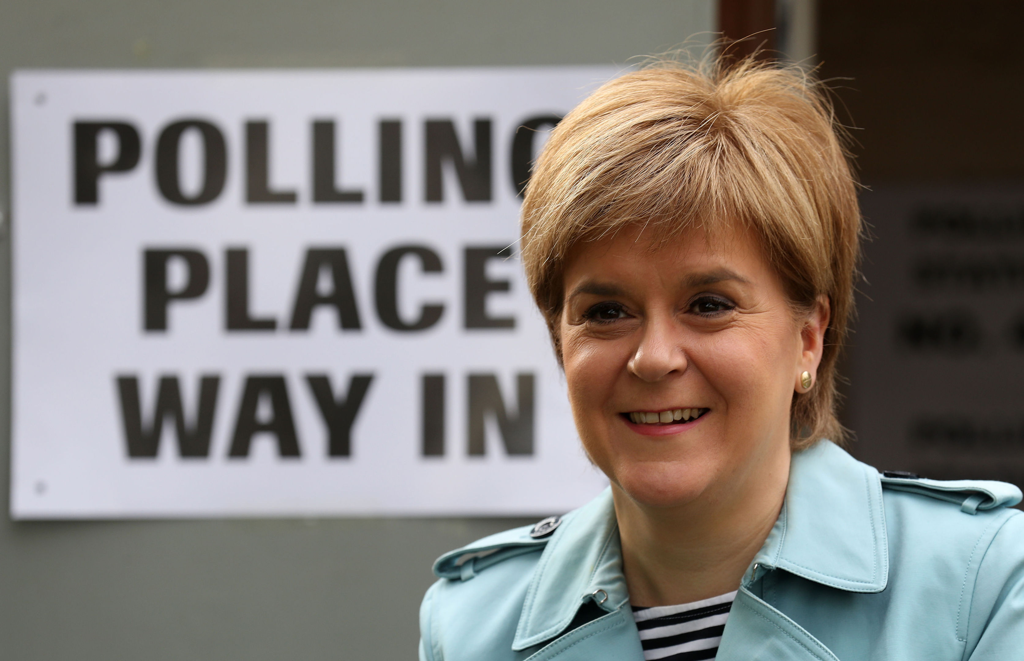 First Minister and SNP Leader Nicola Sturgeon (Andrew Milligan/PA Wire)