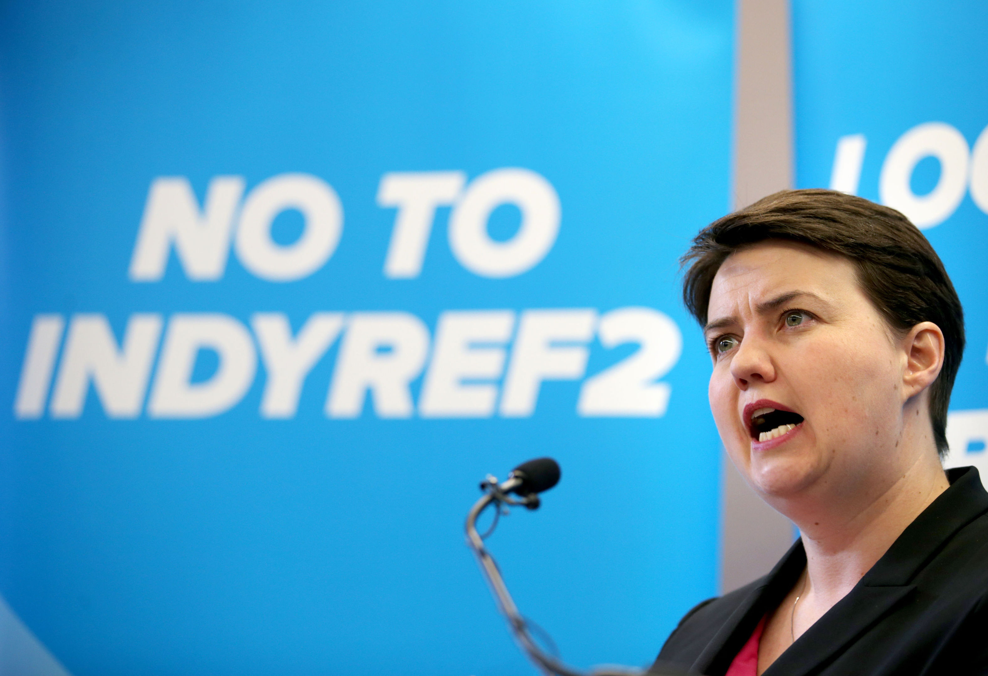 Scottish Conservative party leader Ruth Davidson (Jane Barlow/PA Wire)