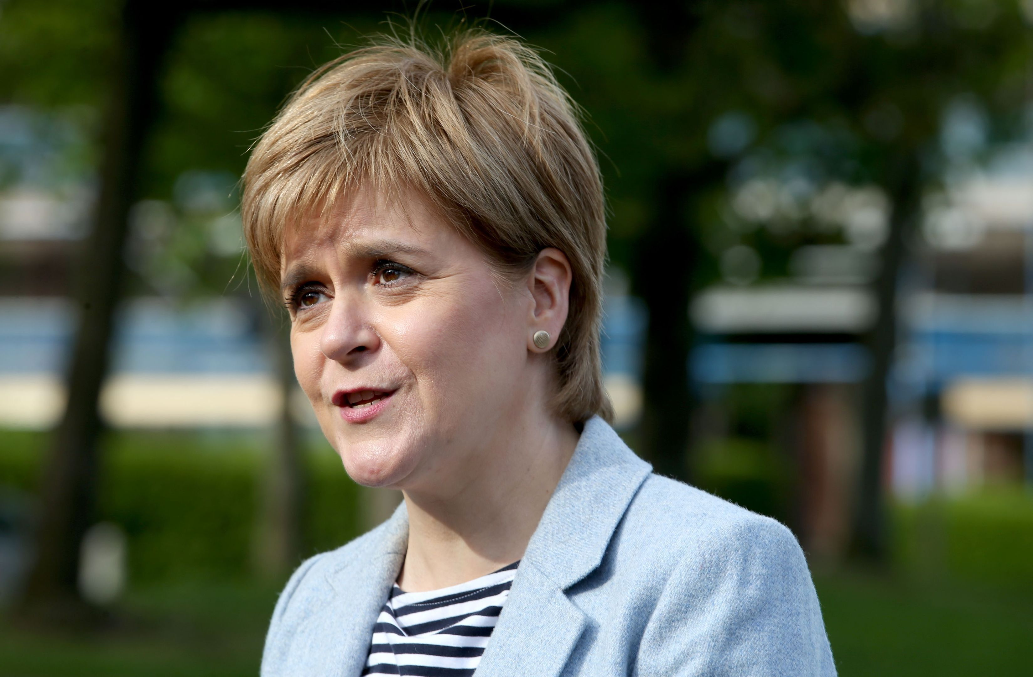 First Minister and SNP leader Nicola Sturgeon (Jane Barlow/PA Wire)