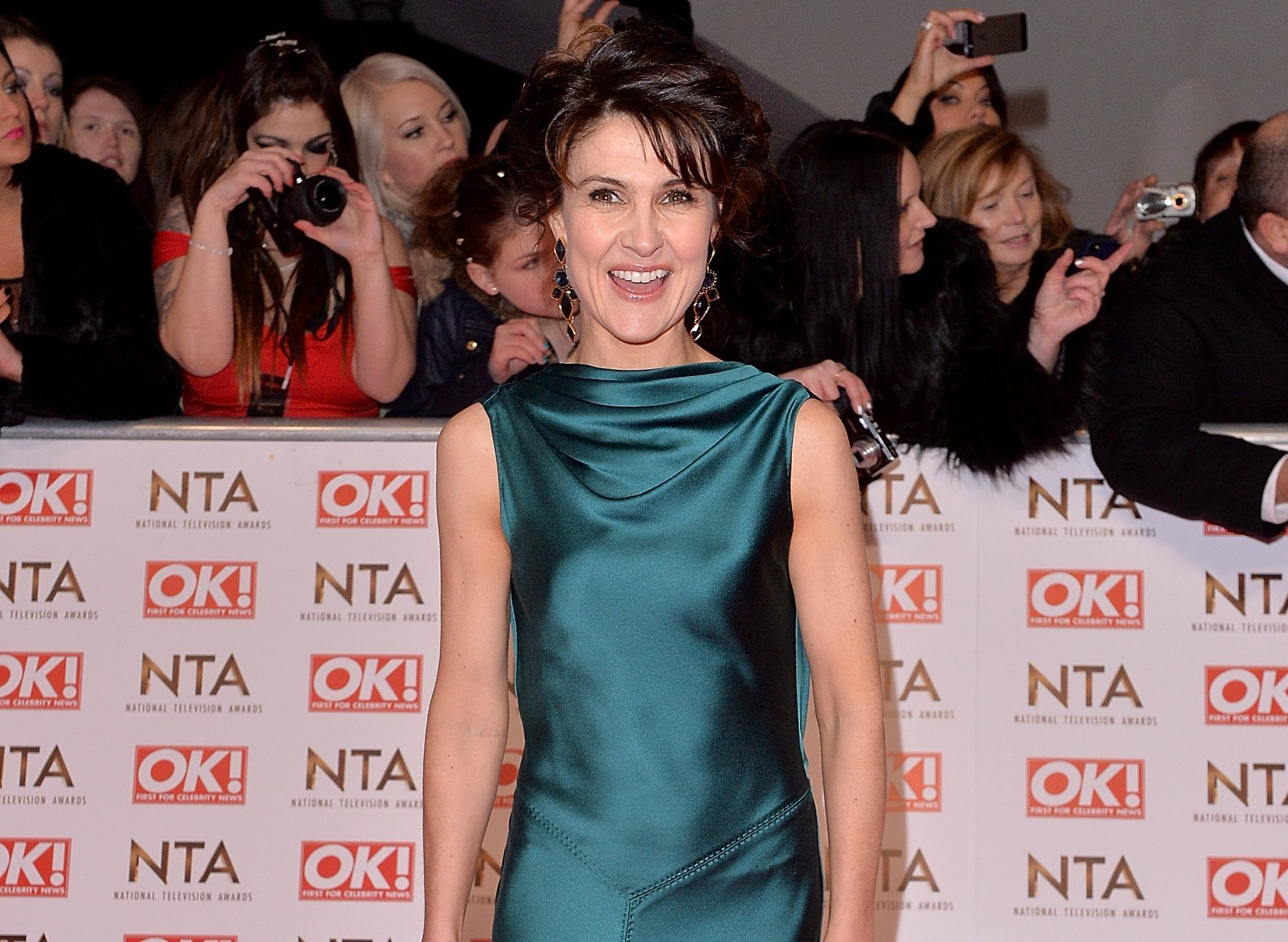 Gillian Kearney attends the National Television Awards (Anthony Harvey/Getty Images)