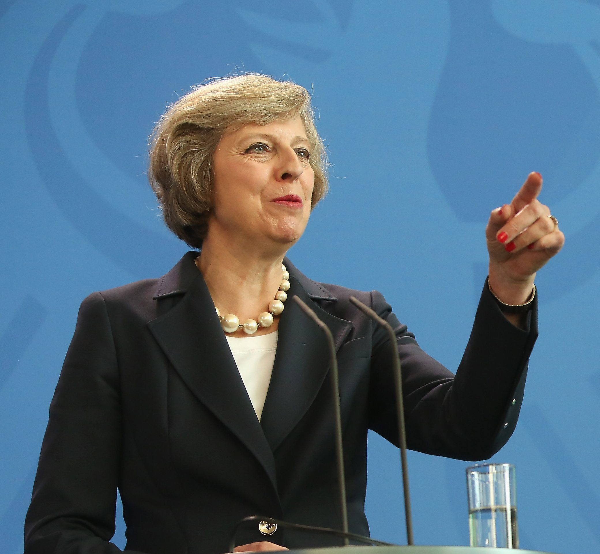 Theresa May (Adam Berry/Getty Images)