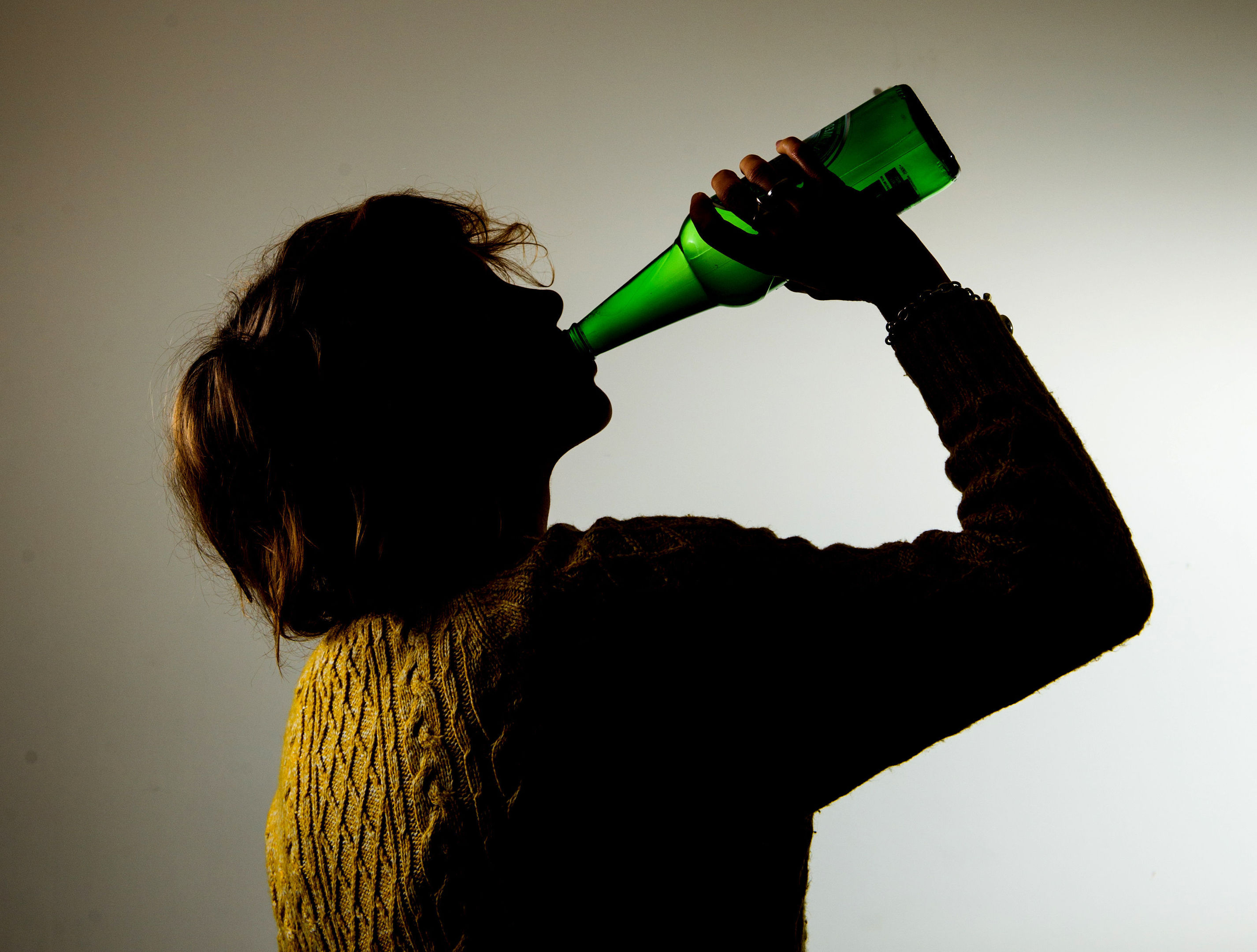 Drinking heavily is more harmful to the poorest people in society, who are at greater risk of illness or death because of alcohol consumption, according to a medical study (Dominic Lipinski/PA)